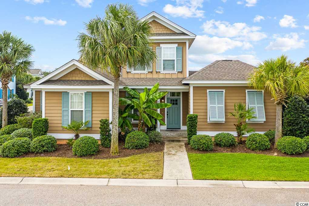 "Furnished 3 Bedroom,2 Bath home in the charming community of ""Cottages at Margaret"", which is part of ""North Beach Plantation"". There is a 1st floor Master Suite.  North Beach Plantation is an exclusive 60 acre, oceanfront development with five star amenities; a 2.5-acre pool area with a swim-up bar rated #1 in the US by Trip Advisor, 8 pools, 5 hot tubs , lazy river, world-class spa, Beach Fit fitness center, shuttle, security and 3 on-site restaurants. Close to Barefoot Landing."