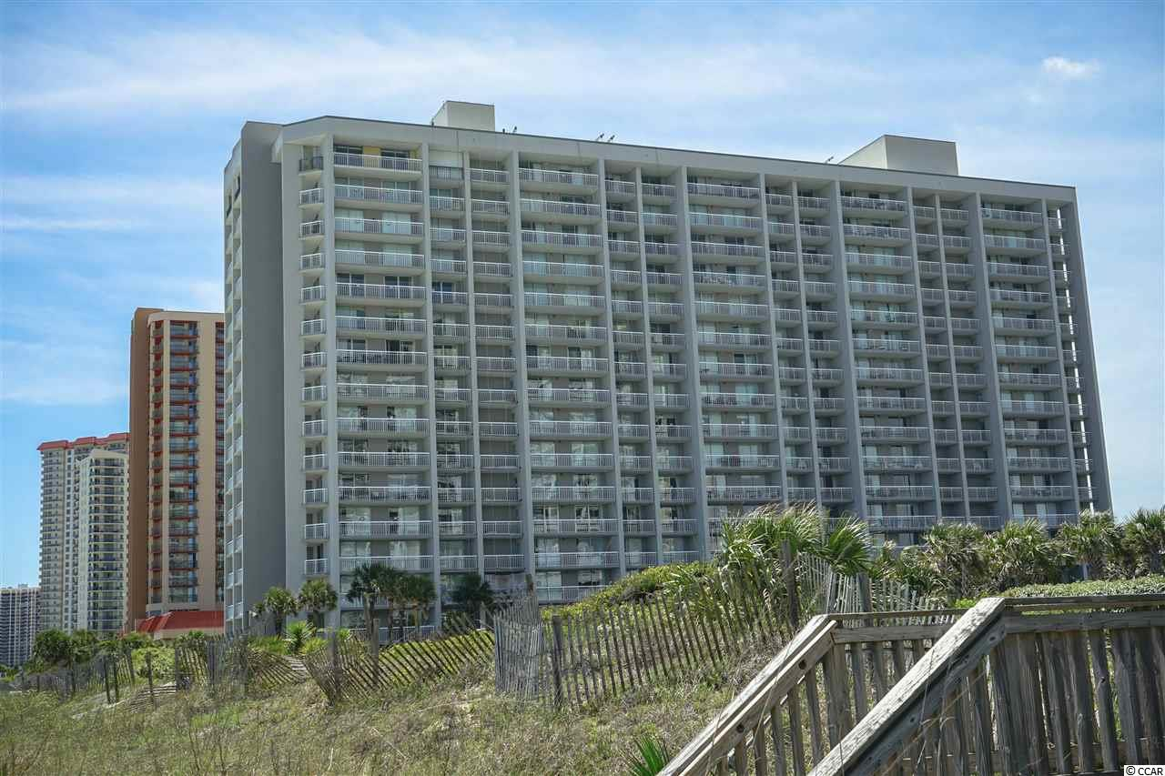 Watch the sunrise over the beautiful Atlantic Ocean from the large decks of this two-bedroom, two bathroom South Hampton condo.  Three separate decks totaling about 250 sq. ft.  Unit has tile floors in the living area and luxury vinyl plank in the bedrooms.  Master bath has a whirlpool tub AND a large walk-in shower.  Split-bedroom floorplan.  Enjoy either of two pools adjacent to the building, as well as two more pools just a few steps down the boardwalk at the nearby Embassy Suites hotel.  The Embassy Suites hotel has a water park, a lazy river and numerous dining venues.  Enjoy the Spa & Fitness Center, which offers a heated indoor pool, all the latest in workout equipment, tennis, pickleball, large putting green and all the soothing spa treatments.  Great place for wonderful family vacations and rental income if you'd like.