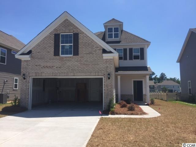 Home is under construction for April 2021 completion. Model Home open every day! Mon-Tues 11-5, Wed 1-5, Thurs-Sat 11-5 & Sunday 1-5. This Two-story Craftsman-style home with 3 bedrooms, 2.5 baths backing to a lake. The foyer opens to a large great room, dining room and a spacious kitchen. Additionally, the kitchen offers stainless steel microwave oven above the stove and dishwasher; granite counter tops with staggered  cabinets with crown molding. The thoughtfully designed kitchen features a large island with bar top seating and stainless steel appliances with corner pantry. A coat closet, powder room and organizational space are all located near the garage entry. The upstairs master suite features a large bath with shower tub and his and hers walk-in closets. Huge bonus room. The secondary bedrooms and and a laundry room are both located upstairs.  And of course you can enjoy all of the Mungo award winning hauSmart standard features like: enhanced appliances and kitchen cabinetry with varied heights & large crown molding, comfort-height vanity with drawer stack in master bath, radiant barrier roof sheathing, a Lenox HVAC System designed and tested by independent 3rd Party, R-38 attic insulation, and a Rinnai tankless hot Water heater that you'll appreciate when you receive your monthly power bill. Because it's hauSmart, the home is healthier for you and the environment. Clear Pond at Myrtle Beach National in Carolina Forest is a natural gas community and has resort style amenities featuring a fitness center, beautiful club house, two pools, lake. walking trials & playground. Minutes from shopping, golf, hospital, schools, beaches & airport. Photos are of a previous Henderson in the neighborhood.  See sales representative for further details. pics are from a very similar Henderson