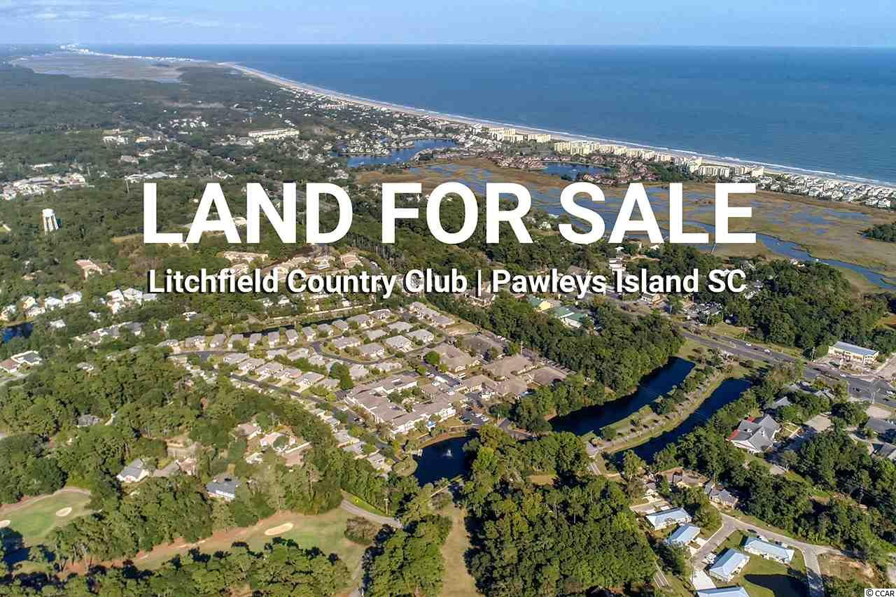Residential building lot Litchfield Country Club Pawleys Island SC. Located on quiet cul-de-sac with wooded buffer to the par 4, number 8 green in rear. This lot is one of five home sites on this cul-de-sac. Litchfield Country Club is close to public beach access, close to all the amenities Pawleys Island has to offer and best all, no HOA fees. Lot is approximately .66 acres, 28,659 square feet.