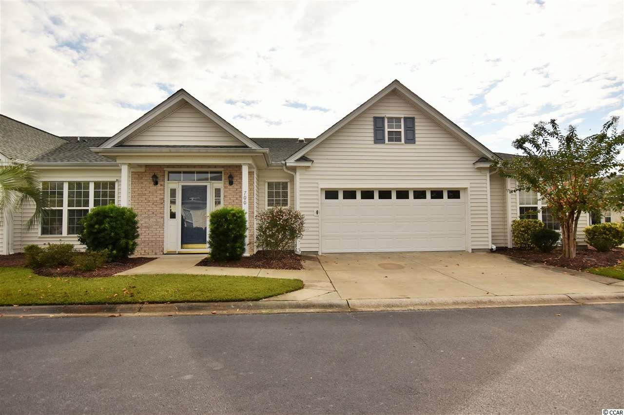 Incredible opportunity to own in the highly sought after Wynbrooke Village of Murrells Inlet, SC. Enjoy the worry-free lifestyle of being able to lock the door and head out on vacation knowing that the house will be maintained while you are away. The HOA includes all of your exterior maintenance, yard work, cable TV insurance, a community pool, and more ! 700 Wessex Dr boasts a total of almost 2200 sq ft including an over-sized 2 car garage. Additional features include a spacious living area, generously sized bedrooms, an upgraded kitchen with stainless steel appliances, and so much more. Wynbrook is located off of Tournament Players Blvd near the TPC Golf Course, 2 grocery stores, dining, and other shops. Wynbrook is also located less than 2 miles from the Marshwalk and not far from the Garden City Pier.