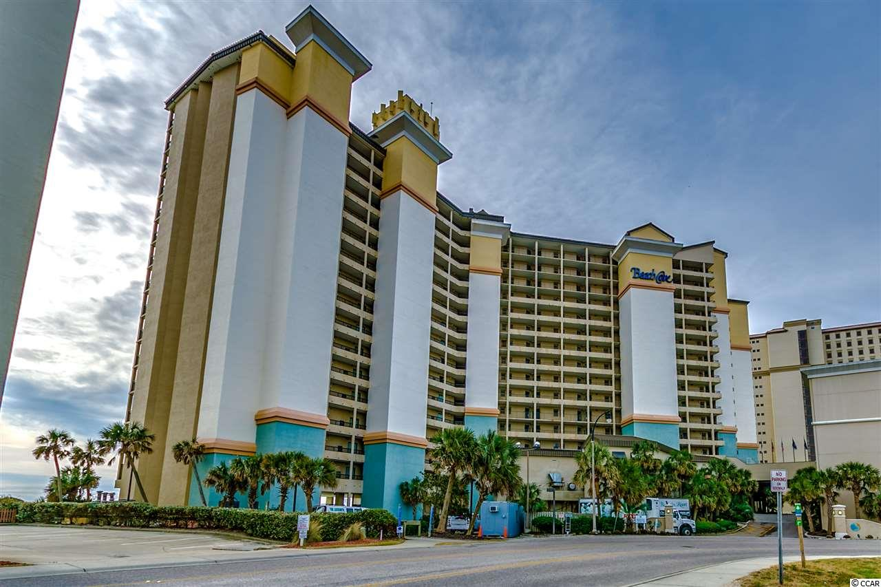 Beautiful Oceanfront 1 Bed 1 Bath Condo in the Beach Cove Resort. This resort makes you feels like you are on a tropical vacation with breathtaking views of the Atlantic Ocean and amazing amenities. The condo is fully furnished and can be used as a vacation home or an income-producing investment property. This unit offers a true one-bedroom with two double beds and a kitchen with a full size refrigerator, small stove top and microwave. The bathroom features double sinks and a shower/tub combo. The living area includes a queen size pullout sofa. Enjoy the stunning oceanfront view and magnificent sunrises from your own private balcony. The fabulous amenities in Beach Cove offer you everything you want on vacation, including the popular tropical pool deck, indoor and outdoor pools, including a kiddie pool, 3 oceanfront whirlpools, 350 ft lazy river, racquetball court, exercise room, arcade, onsite restaurants, bar & grill, coffee shop, and much more. When you leave the resort, you will be just  a short stroll to Barefoot Landing and all the fabulous restaurants, shops and entertainment it has to offer. Beach Cove is also close to all the Grand Strand has to offer in golfing, shopping, and the nightlife.  Don't miss out on the opportunity to own a piece of paradise in Beach Cove.