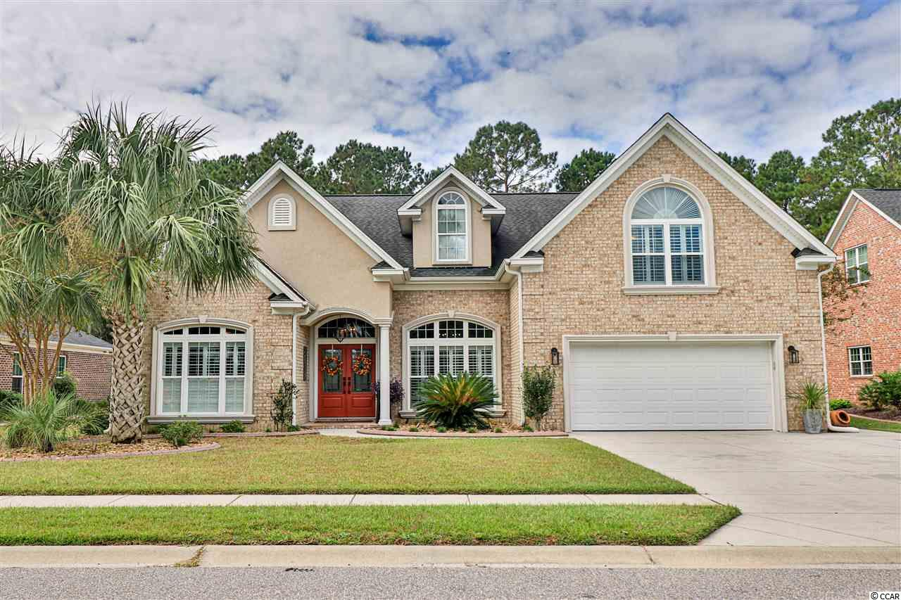 WELCOME HOME to this wonderful RETREAT designed to sit back, relax, and enjoy life! This Covington Lakes East home has 5 spacious bedrooms and 4.5 bathrooms. The living area has an open floorplan that flows harmoniously from the grand front door, through the living areas, out to the back screened in porch, and into the expansive fenced in yard with a private pool! The kitchen has granite countertops, a double oven, an island, and a charming breakfast nook with many windows to enjoy the views as you have a quick bite or that first cup of coffee. This amazing location is convenient to 501 and everything the area has to offer while being tucked away in a community with a neighborhood feel. This home lets you come home to a haven with space for everyone! Come out and see what peaceful living is all about!