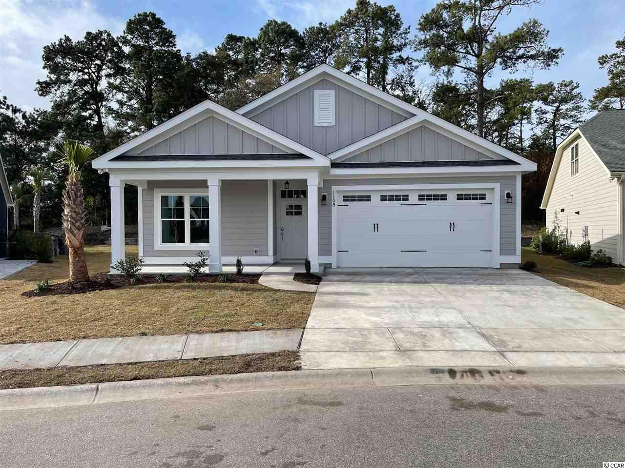 Great new construction Emerald 1 model 3br/2ba w/ an office/den on a large lot in Robber's Roost @ NMB!  This great new custom home features a master suite w/ 2 walk-in closets & ensuite bath, an office/den, large open kitchen/dining/family room, laundry/utility room, front & rear porches, a side patio, retaining wall & a 2 car garage!  Additionally, Robber's Roost at North Myrtle Beach is a natural gas community east of Hwy 17 with a community pool coming for the 2021 swimming season & is located within walking, bicycle or golf cart distance to Tilghman Beach, the beautiful Atlantic Ocean w/ 60 miles of white sandy beaches and is close to Coastal North Town Center (shopping, dining, beauty, pets), Shag dance capital Main St., golf, boating/fishing in the ICW, entertainment and all the amenities of living in Coastal South Carolina. Whether a primary residence or your vacation get-a-way, Don't Miss ~ come live the dream!  (*Many new plans to choose from!)