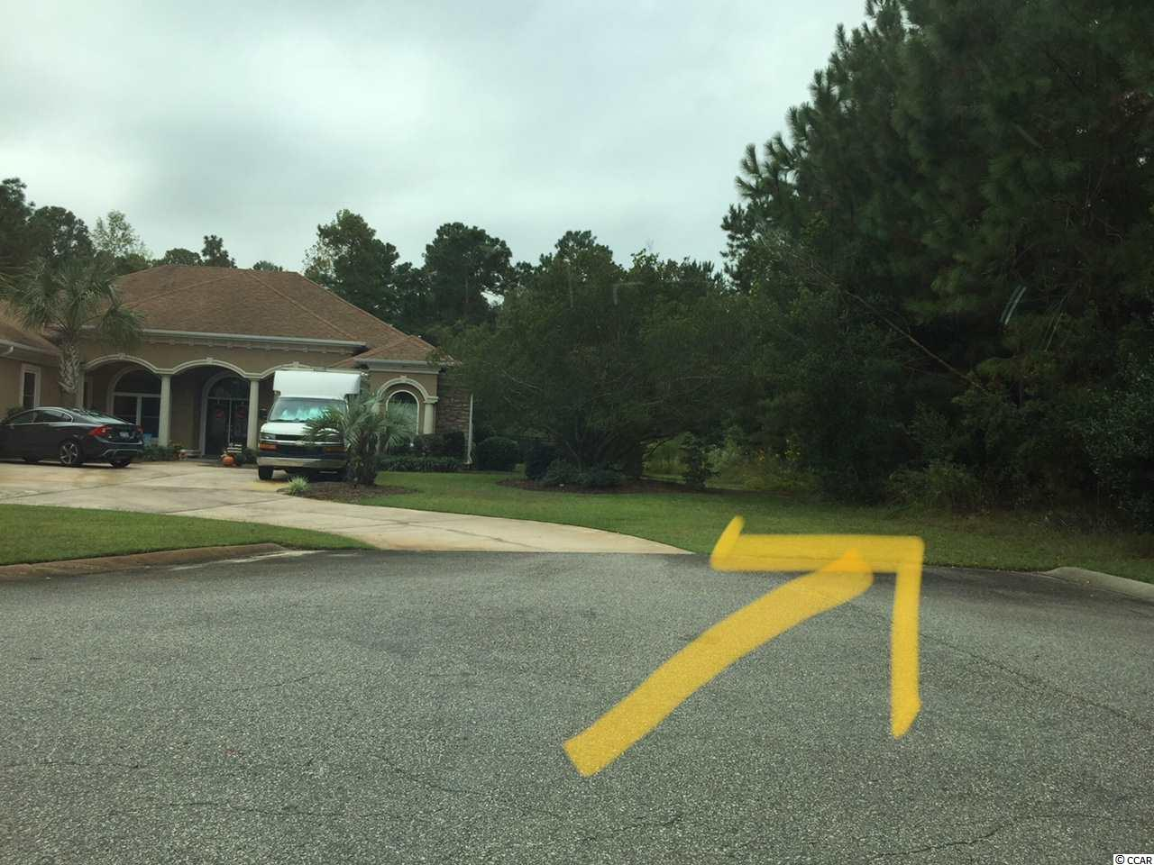 Very private secluded flat lot in gold course community. Lowest priced in community.