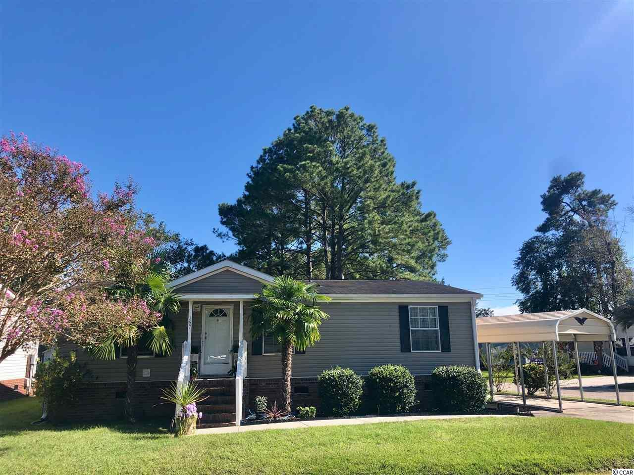 Wow! Check out this beautiful, move in ready, three bedroom home three short miles from the Beach. This split floor plan offers an open living and kitchen/dining area. Huge front corner lot. Perfect home in the perfect location. Truly a must see. Schedule your showing today.