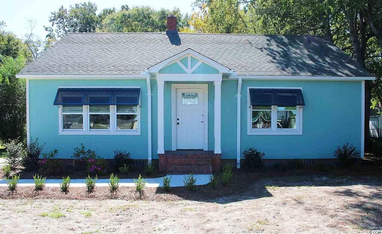 Check out this completely remodeled 3 bedroom, 1 bath home in the Maryville community of Georgetown.  This home has been updated with a new roof, new façade, fresh paint inside and out, refinished hardwood floors, and beautiful crown molding. All new appliances include a washer, dryer, refrigerator, and stove. This house comes completely decorated and furnished with gorgeous pieces of both antique and modern furniture throughout, including oriental rugs and bedroom suits. This property comes with a 10X16 shed.   The Maryville community has a public boat landing leading into the beautiful Winyah Bay and on to the ICW. This community is located minutes from downtown Georgetown with its fine dining a great shopping. Pawleys Island's white sandy beach is 20 minutes away. Historic Charleston and Myrtle Beach are around an hour's drive.