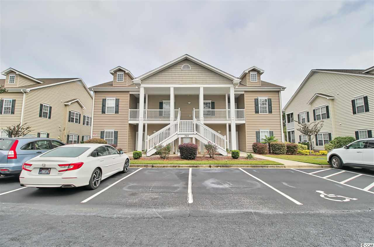 Welcome home to 320 Black Oak Lane in the highly-desirable community of Marcliffe West @ Blackmoor! This 3-bedroom, two-bath condo would make a great investment, second home, or a full-time residence. Upon entering the foyer there are two guest bedrooms and a guest bathroom. The efficient kitchen opens to a large great room and dining area with a cathedral ceiling complimented by beautiful lighting. Enjoy the outdoors and desirable weather in the balcony screened porch off the great room. The spacious owners suite is also off the great room and includes a walk-in closet, double vanity, garden tub with shower and tray ceiling in the bedroom with a ceiling fan. There are also ceiling fans in the great room and guest bedrooms. All kitchen appliances and a brand-new washer and dryer are included! There is new carpeting and the entire condo has fresh new paint! This home is conveniently located in close proximity to a large hospital, the Murrells Inlet Marshwalk and its famous restaurants, marinas, and beautiful views, as well as the sandy, pristine Atlantic Ocean beaches. Not to mention, if you enjoy golfing, you can walk to Blackmoor In addition, down the street is the State's only TPC course or hop in your car to play at many other of South Carolina's top courses.