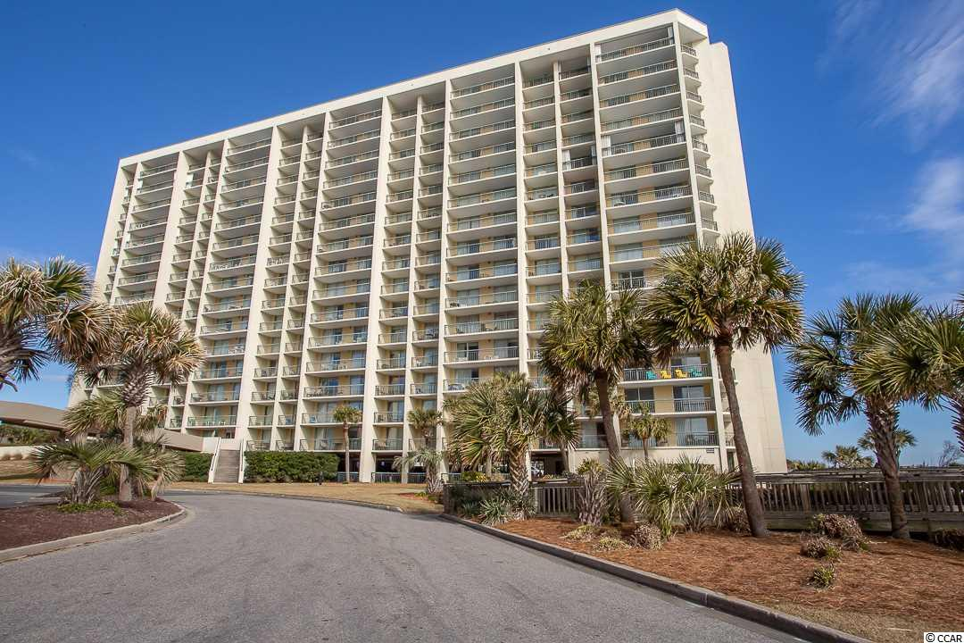 WHAT A VIEW from this beautiful two bedroom, two bath residence.  Just sit on one of the three balconies and listen to the ocean waves.  Sold fully furnished with granite counter tops, stainless steel refrigerator, laminate tile flooring with an open floor plan.  Located inside of the direct oceanfront South Hampton Tower, and connected to the Embassy Suites hotel.  All a part of the 145 acre Kingston Resort with a new Spa and Fitness Center, 12 swimming pools, water park, lazy river, 24 hour security, 1/2 mile of white sandy beaches and the list goes on.  Great for a primary residence, second home or on-site rental option.  A must see!