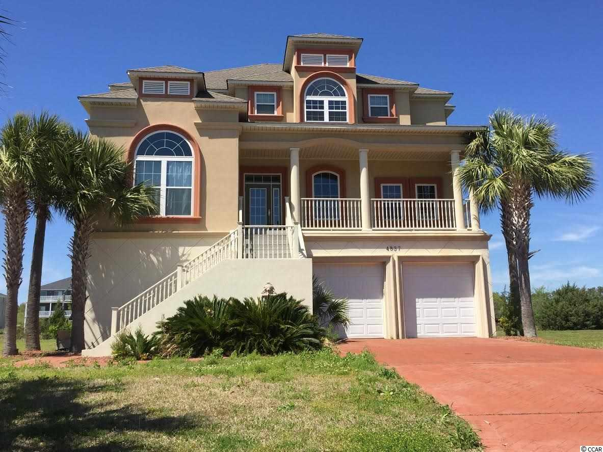 BEAUTIFUL WATERWAY GATED COMMUNITY (PARADISE ISLAND). THIS IS A MUST SEE!! THIS HOME IS A MEDITERRANEAN STYLE AND HAS 4 BEDROOMS AND THREE BATHS AND HAS VIEWS OF THE INTRACOASTAL WATERWAY AND SITS ON THE CHANNEL. THIS HOME BOOSTS AN OPEN FLOOR PLAN WITH BEAUTIFUL COFFERED CEILINGS AND TRIM WORK THROUGH OUT. PLENTY OF ROOM DOWN STAIRS FOR A WORKOUT ROOM, PLAY ROOM OR MAN CAVE. SO MANY POSSIBILITIES!!!! ROOM IN THE BACK FOR A POOL AND A SHARED DOCK. SQUARE FOOTAGE IS APPROXIMATE AND NOT GUARANTEED. BUYER IS RESPONSIBLE FOR VERIFICATION.