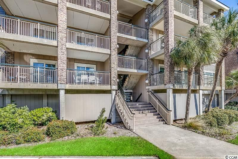 Extraordinarily exclusive oceanfront gated community of Pawleys Pier Village. This is truly one of a kind opportunity to own a piece of Pawleys and have access to the exclusive Pawleys Pier that stretches out into the Atlantic Ocean. This beautiful completely upgraded unit offers ocean views, ocean breezes, relaxation on your front covered porch and side balcony off the master suite.There is also a private pool and clubhouse, covered parking, private storage room downstairs for all your beach accessories, elevators and an on site boat parking. This open floor plan unit features wains coating foyer and hallways, upgraded vinyl plank flooring, tray ceiling kitchen with crown molding, recess lighting, granite counter tops, tile back splash, white cabinets, stainless steel appliances and upgraded double vinyl sliding doors that lead to your covered porch with brick columns. Other features include dining area, plantation shutters, large linen closet in hallway, large laundry area with extra pantry space, tile floors and glass slider shower doors in both full baths and walk in closet in Master bedroom. And to top it all off...it comes fully furnished so just bring your suitcase. Enjoy the sunrise, enjoy walking on the beach, enjoy the fishing and swimming and paddle boarding or boating or just sit and relax and let the ocean waves hit your feet.
