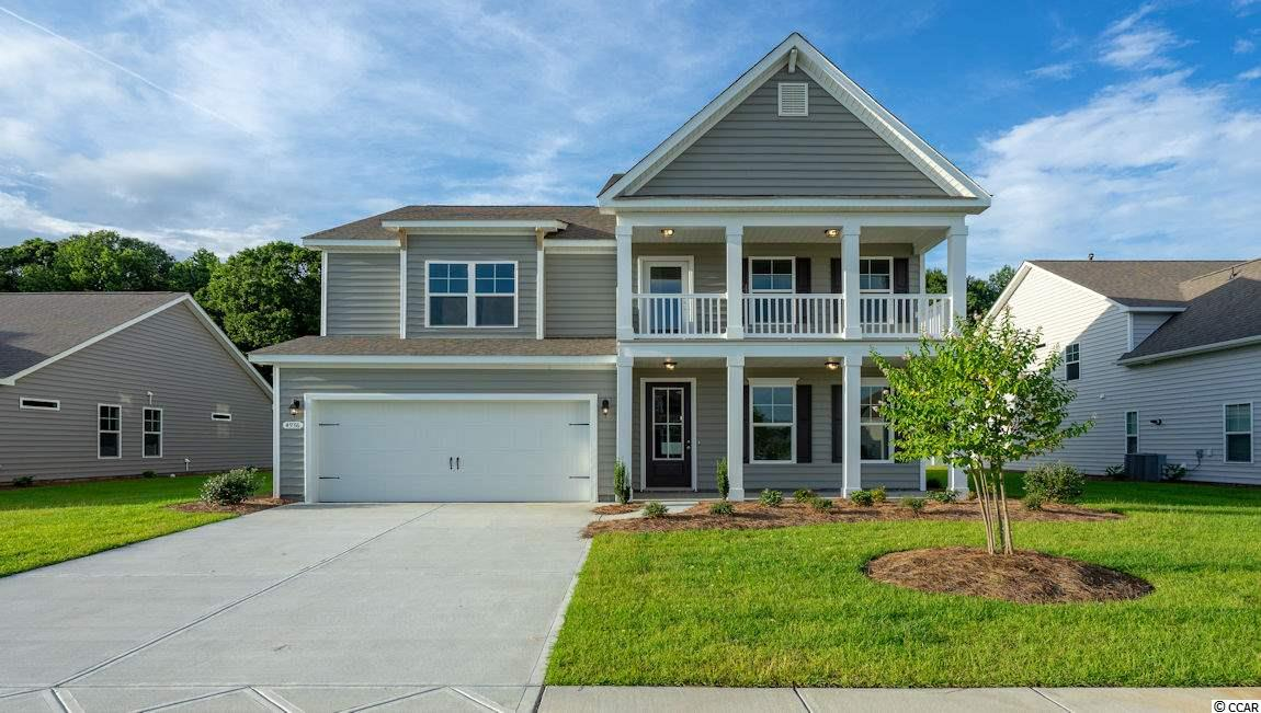 New phase now selling! Hidden Brooke is a beautiful community with an amenity that includes a pool with large deck area, clubhouse, and exercise room. Minutes away from Highway 31 which provides quick and easy access to all of the Grand Strand's offerings: dining, entertainment, shopping, and golf! Tranquil setting just a short drive to the beach. This popular Harbor Oak plan brings functionality and style together! Incredible curb appeal is an understatement given the stacked front porches and tall entry door. Once inside, light gray laminate wood flooring creates an inviting space and numerous windows bring in fantastic natural light. Off the entry is a spacious flex room that would make the perfect home office or formal dining room. The large gourmet kitchen boasts granite countertops, an oversized island, stainless Whirlpool appliances, a walk-in pantry, and a gorgeous Butler's pantry. Spacious bedroom and full bathroom on the first floor is great for guests. Upstairs you will find the grand primary bedroom suite with a cozy sitting room, huge walk-in closet, and en suite bath with large separate vanities, linen closet, and 5 ft. shower! Two additional bedrooms, a hall bathroom with a double vanity, and a great loft space with lots of storage complete the upstairs.  *Photos are of a similar Harbor Oak home.  (Home and community information, including pricing, included features, terms, availability and amenities, are subject to change prior to sale at any time without notice or obligation. Square footages are approximate. Pictures, photographs, colors, features, and sizes are for illustration purposes only and will vary from the homes as built. Equal housing opportunity builder.)