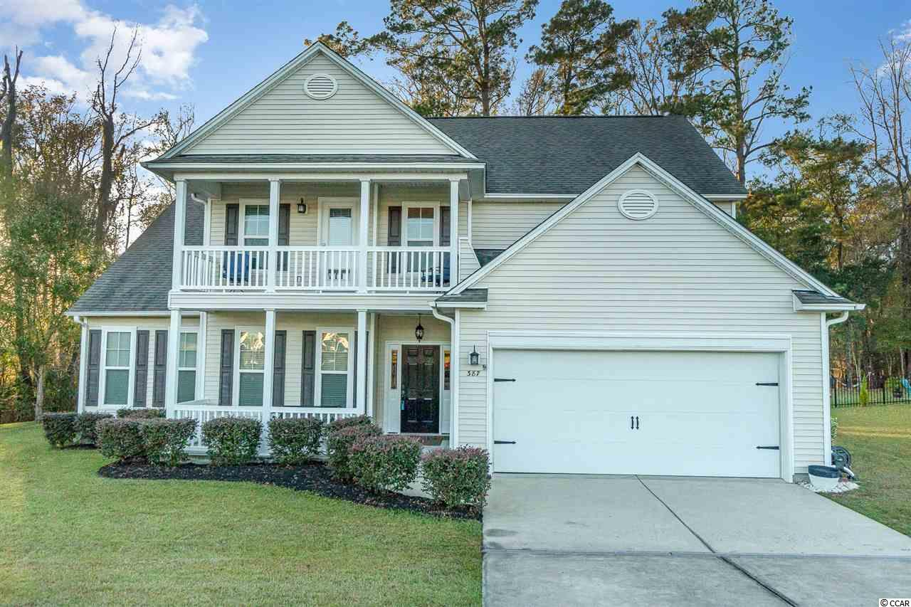 Dramatic Large Price Reduction and now listed below town of Conway appraised value.   Don't miss this rare opportunity to purchase this better than new two-story home, located in Heritage Preserve that backs up to a huge 1.26 acre private wooded lot. This Hagood Model featuring a Low Country elevation with double front porches, with a breathtaking two-story foyer. The home includes 4 bedrooms with a first-floor master suite, large chefs kitchen with updated quartz countertops and breakfast area: an entertainer's delight, newly installed built-in pantry, a formal dining room and living room, and a vaulted family room that opens to the kitchen and breakfast area. Hardwood floors are in the main living area and tile floors in the wet areas. The master suite features a tray ceiling and the master bath includes a large walk-in closet, jetted garden tub with a separate shower, double sinks, and a separate toilet. The home also features a loft area for family and friends to enjoy, a screened-in back porch with serene views of the wooded preserve.   Your HOA dues cover the use of the oversized community pool, covered pavilion and rest rooms.   Heritage Preserve is a natural gas community offering the ultimate in gracious countryside living with a coastal lifestyle. Located just down the road from the new International Dr. exit, Highway 31 making this a 15 minutes or so drive from the white sandy beaches. You are also minutes from downtown historic Conway, The River Walk, Theatre of The Republic, shopping, grocery stores, doctors, pharmacy's, restaurants, entertainment, Myrtle Beach State Park and all that the Grand Strand has to offer.   This fabulous, updated home is priced to sell quickly, don't miss out, schedule a showing today.   All measurements are approximate and not guaranteed. Buyer is responsible for verification.