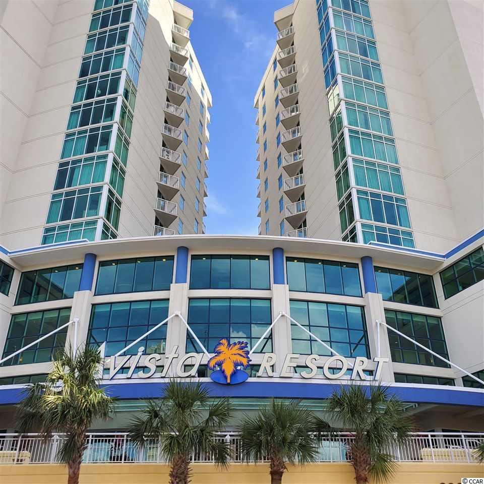 "This spacious corner condo has awesome views of the ocean and northern exposure views of the prestigious homes along Tilghman Beach!  It is the ""L"" floor plan, which is the largest 1 bedroom plan in Avista Resorts. The floor to ceiling windows and 2 balconies give breathtaking views like none other!  There are few condos with this floor plan, and this is the only one of its type on the market, so take a look before it is too late!  The resort is located on Ocean Blvd, just off Main Street in the Ocean Drive section of North Myrtle Beach.  Ocean Drive is the home of The Shag dance, so this is in the heart of festivals and clubs, as well as near tons of dining, shopping and more!"