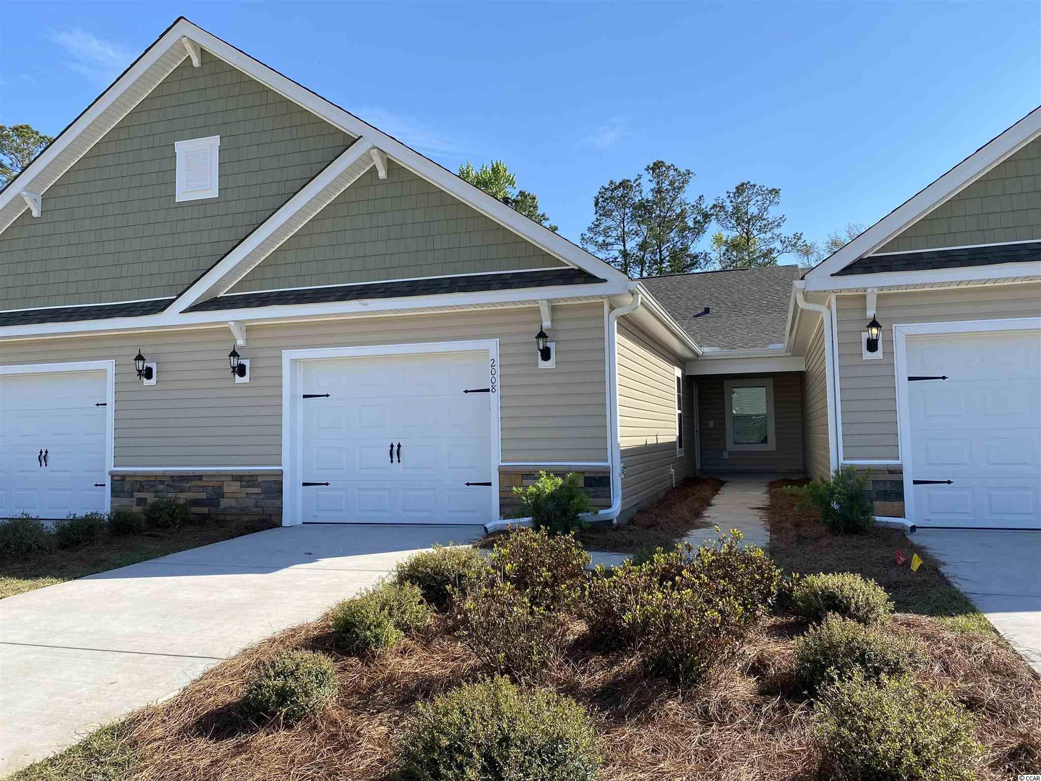 All New Spacious Garden Homes in Palm Lakes offers a maintenance free lifestyle. The Garden Home Section consist of 72 Units with Tree and Pond Views. There are 4 single level villas per Building. All villas are standard with Natural Gas.  Palm Lakes is just 10 Minutes to the Beach and only 5 minutes to the North Myrtle Beach Sports Complex. Easy access to Hwy 9 and 31 for your entertainment, shopping and medical needs. HOA covers Exterior Insurance, Lawn Care/Maintenance, Weekly Trash Pickup, Power Washing, Internet/Cable, Pest Control/Termite Bond, Gorgeous Pool, Club House and Fitness Room.