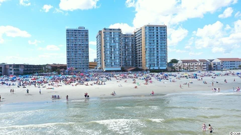 """OCEANFRONT CONDO !   Selling 2 Oceanfront efficiency condos side by side, with """"lock-out' feature in the Renowned Sands Ocean Club Resort that is home to Famous Ocean Annie's Beach Bar! (See unit 808).  Unit is updated with an """"A"""" rating and has BRAND NEW FURNITURE INCLUDED !  Queen Beds.   Amenities include Indoor pool, 2 hot tubs, outdoor pool & lazy river.  Lounge by the font desk, hosts karaoke and DJ.  Breakfast restaurant, and River City Café on site !  Laundry facility, convenience store, souvenir shop/boutique and SPA !  So close to Restaurant Row and the Outlets.  HOA covers POWER, & INTERNET.  Walking distance to Apache fishing pier, New classy Restaurant """"Don't get it twisted"""", """"Nucci's Pizza & Flip flops.  Sit on your new balcony looking right at Atlantic ocean !"""