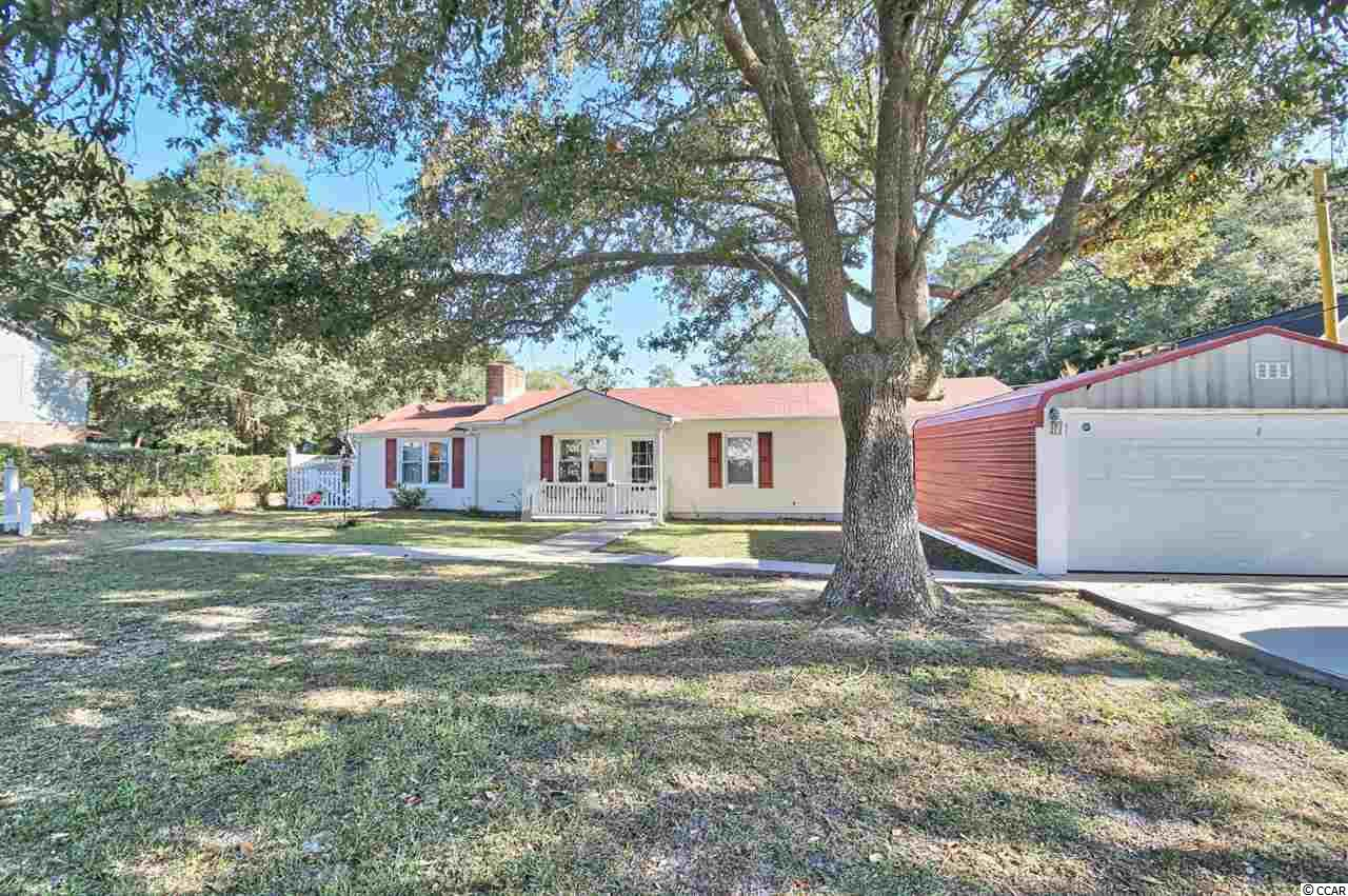 NEW LISTING! PICTURES COMING SOON! Ranch home on large corner lot. 4 Br/2.5 Baths with Office, No Hoa, Large Front & Backyard with detached 2 car Garage, detached Tool-shed & detached 12 x 16 Shop. 2 Water heaters, 2020 & 2014, New Hvac in 2020.  The Intracoastal waterway is at the end of the street. Located in the Historic Village of Little River. You can walk to the waterfront and all that it has to offer. Beautiful 3 & 400 yr old Oak trees provide shade, numerous waterfront restaurants with outdoor decks & patios. Boat & jet-ski rentals and Casino boats.