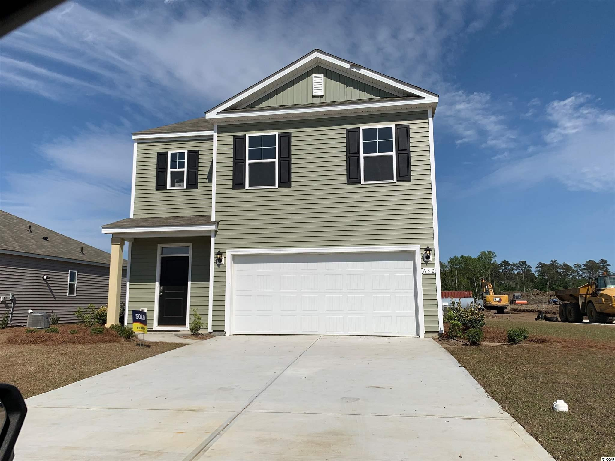 """Oyster Bluff is now selling! Brand new natural gas community just minutes away from shopping, dining, and the beach. The Robie plan boasts a large open concept main floor which includes a spacious living room, dining room, and well-appointed kitchen. Features include 36"""" painted cabinetry, a large island with room for stools underneath, granite countertops, a walk-in pantry, and laminate wood flooring throughout the main living areas. A bedroom and full bathroom on the main floor are great for guests visiting you at the beach. You are greeted by a versatile loft on the second floor, as well as the laundry room, primary bedroom suite with walk-in closet and large en suite bath, and three additional bedrooms. Simplify your life with a dream home that features our industry leading smart home technology package that comes standard with every new home. Control the thermostat, front door light and lock, and video doorbell from your smartphone or with voice commands to Alexa! It's a home that adapts to your lifestyle.  *Photos are of a similar Robie home. (Home and community information, including pricing, included features, terms, availability and amenities, are subject to change prior to sale at any time without notice or obligation. Square footages are approximate. Pictures, photographs, colors, features, and sizes are for illustration purposes only and will vary from the homes as built. Equal housing opportunity builder.)"""