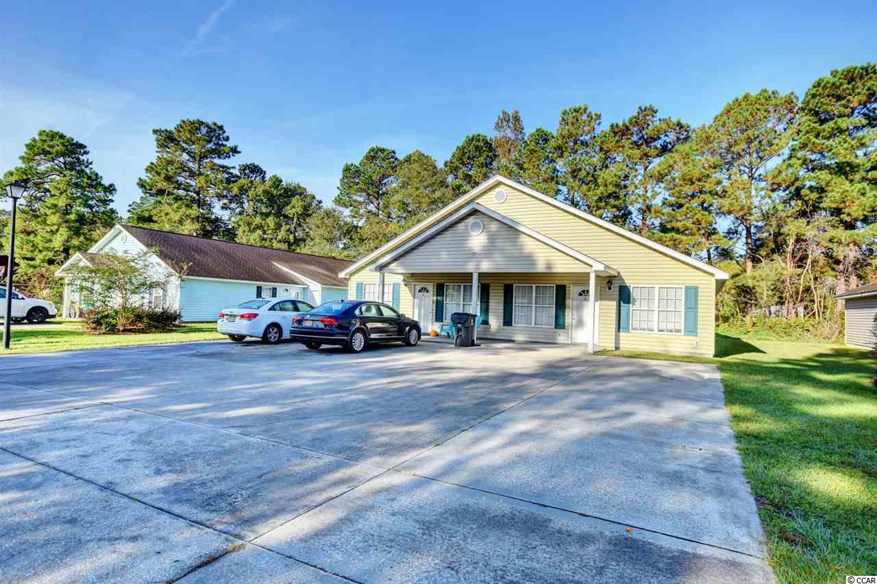 ***INVESTOR ALERT!!!*** Fantastic rental opportunity located within minutes of Coastal Carolina University. This income-producing machine is a duplex with 6 total rooms. It is divided into an A side and a B side, each side containing 3 bedrooms and 2 bathrooms with full kitchen, full-size washer dryer, attached storage closet out back, patio, and plenty of driveway space. The ocean at Myrtle Beach is only a 15-20 minute drive and there are plenty of restaurants, bars, grocery stores, gas stations, hospitals, and entertainment within seconds of this location. This duplex is the perfect set-up for student housing fir attendees of Coastal Carolina University and Horry-Georgetown Technical College. This opportunity WILL NOT LAST on this hot market--jump on it early!!