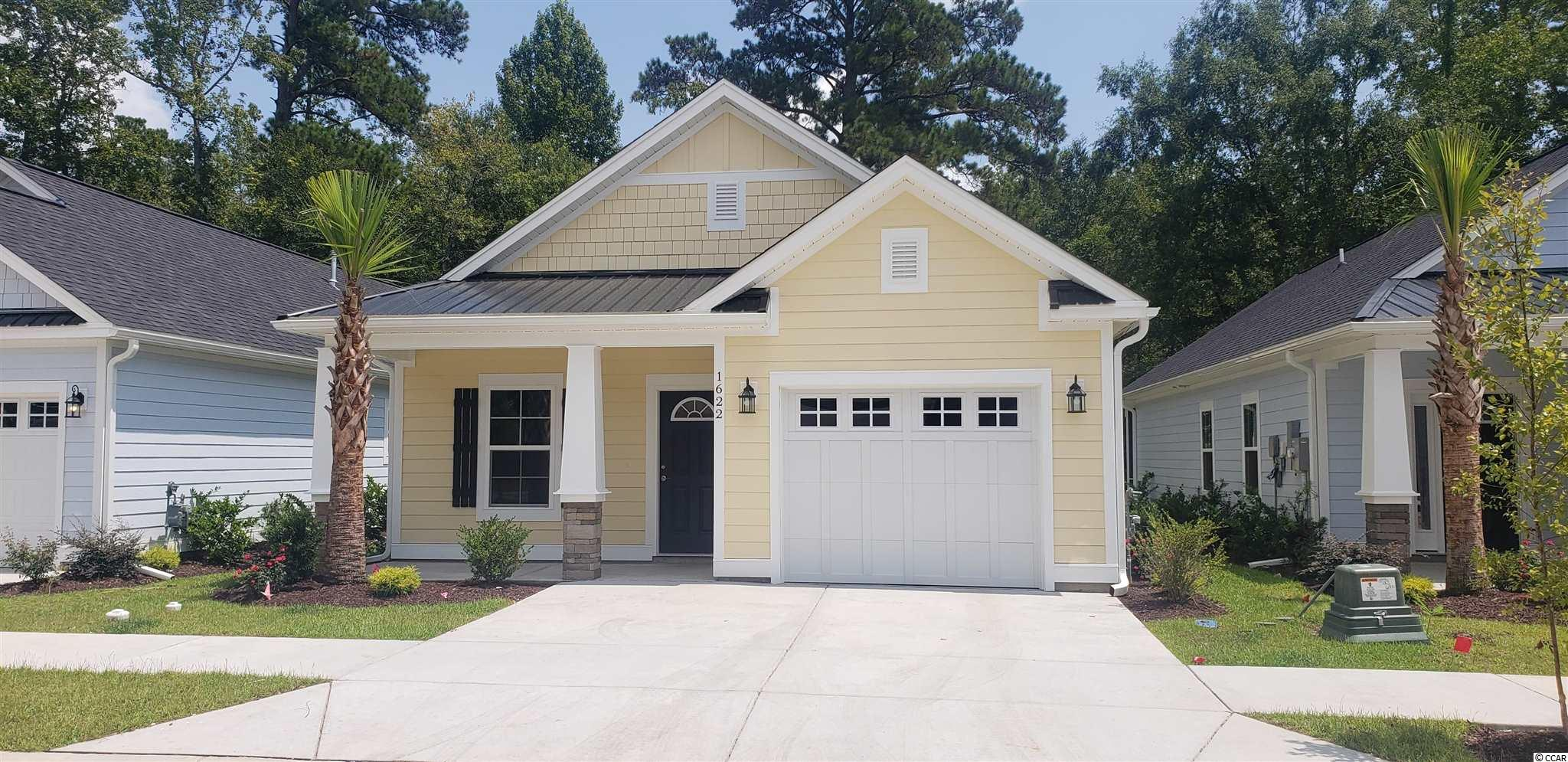 For those seeking the best of both worlds, discover the historical quaint town of Conway approximately 20 miles from the beach and excitement. Located just off 501 behind a scenic lake, this master planned community features a clubhouse and swimming pool, well-lit streets, sidewalks and beautifully designed streetscapes with lush landscaping. There will be 68 homes in the development at completionThe finely detailed Osprey Floor plan features a low country cottage design with 3 bedrooms, 2 baths, 1384 HSF and an oversized 1-car garage. It comes with a gas range, on demand gas water heater, gas heat, brick accents and bright coastal color palettes. This park-like setting is ideal for early morning jogs or afternoon strolls and the front porches are perfect for that fine old lost art of visiting with neighbors. Come discover why Carsen's Ferry is the perfect fit for you and your family.