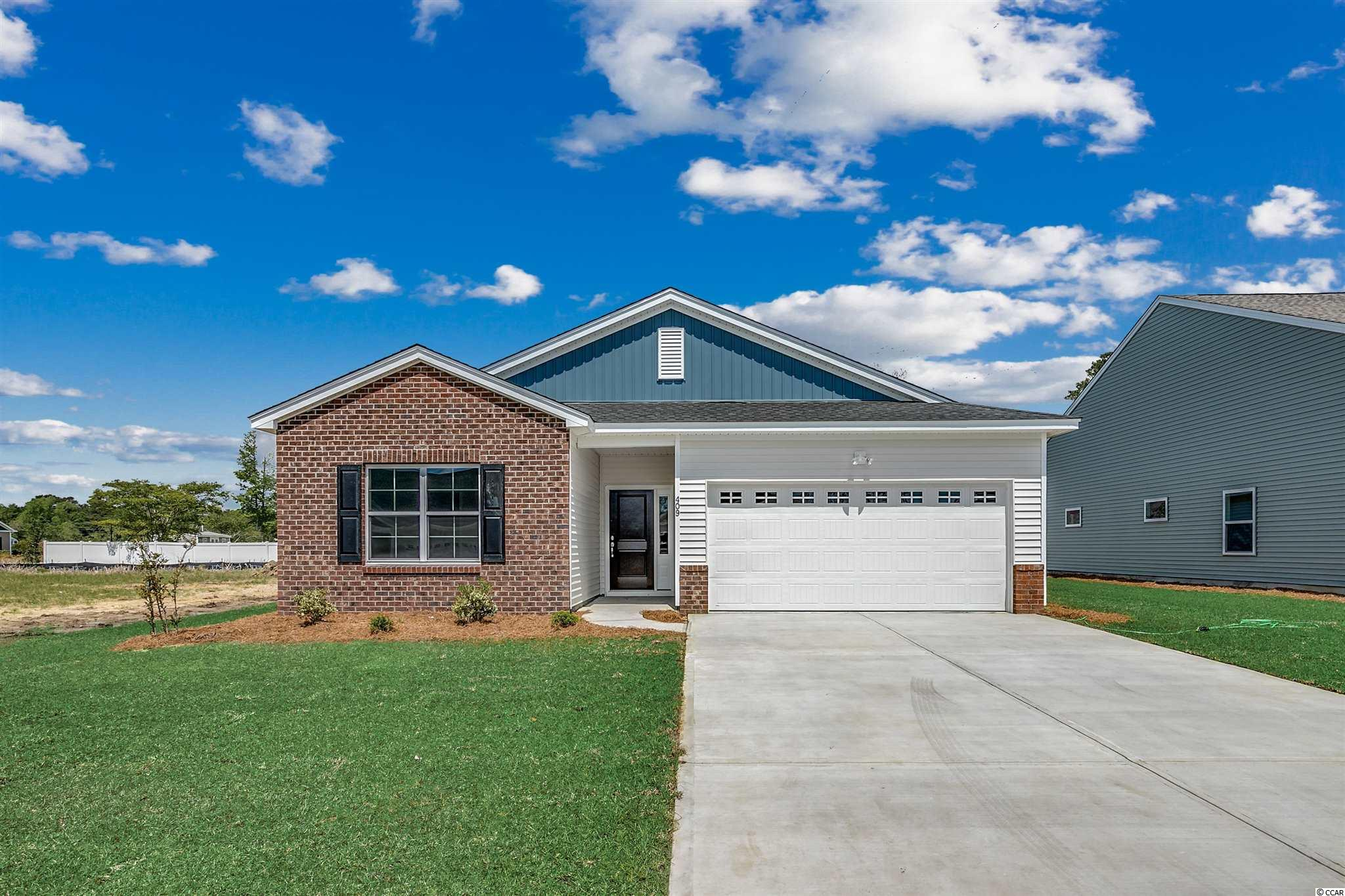MOVE IN NOW The Durham is our new single story home plan that is sure to please! 3 beds and 2 baths, bedrooms 2 and 3 are oversized at 14' x 11', each with a walk-in closet! The spacious Primary bedroom and bath leads to a large walk-in closet too! This split-bedroom design has the open floorplan layout everyone is looking for. The Family Room will have a Boxed Tray ceiling. Enter from the garage and you're greeted by our Bench and Cubbies, perfect for dropping off coats, handbags, and shoes.  Ask about our current incentives and closing cost assistance!