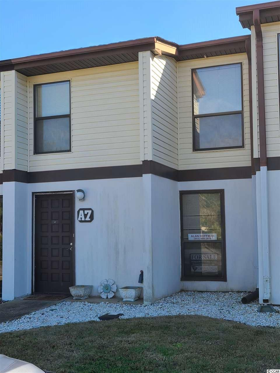 Welcome home! This very sought out townhouse located in the desirable neighborhood, The Villages of Possum Trot, is the beauty you have been looking for! Second to end unit with a private fenced in patio for your enjoyment. 2 bedrooms, 1.5 baths, with a spacious living room, kitchen, separate dining area, and laundry closet! There is not much more needed in this one! All furniture is included, except the silver set in the second bedroom. You are less than a mile or so from the beautiful South Carolina beaches! Hop in your golf cart and explore the area! Contact your Realtor today for a showing! Believe me, this one will NOT last long!