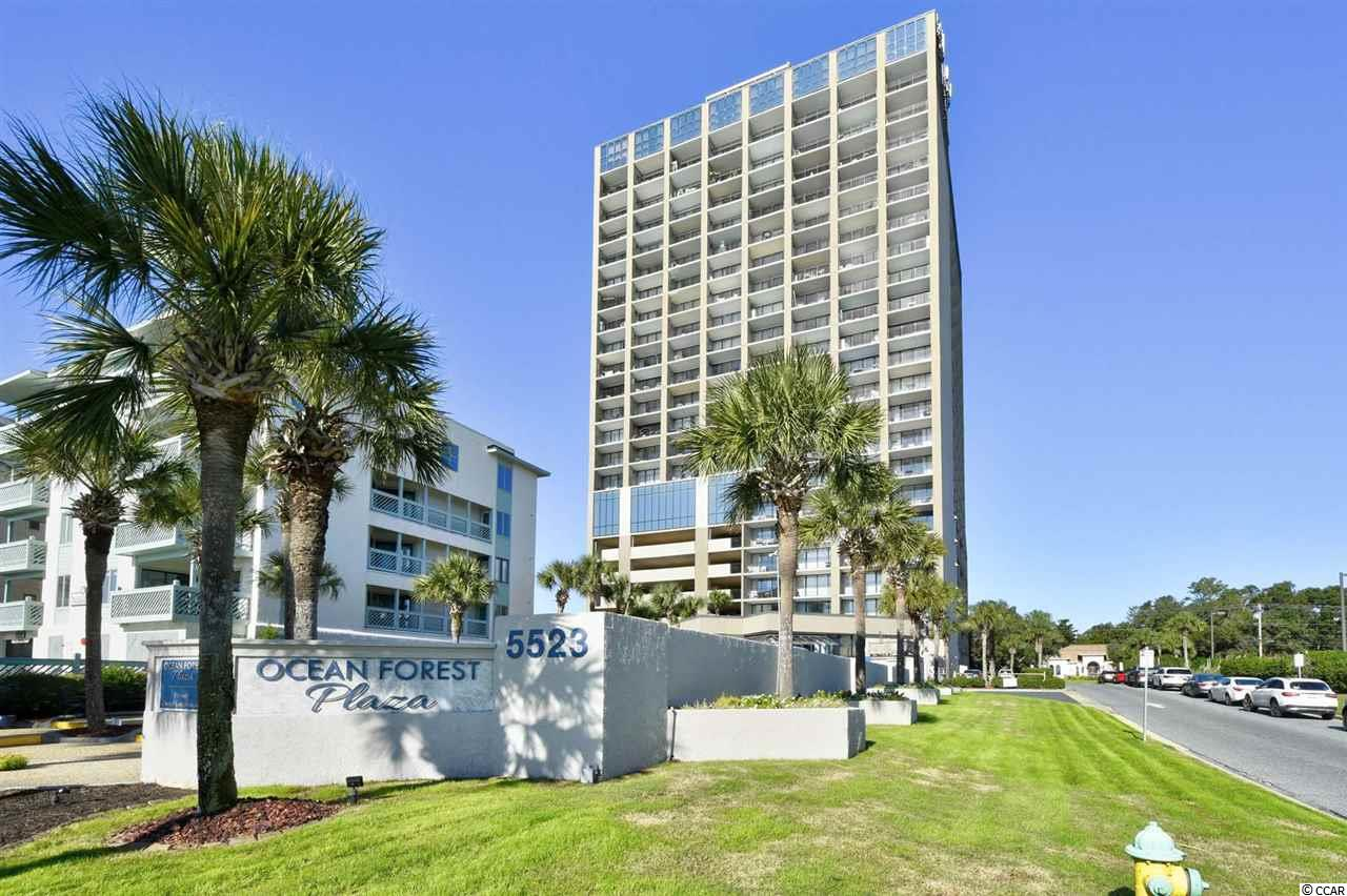 Take a look at this rare higher floor 1 bedroom unit in Ocean Forest Plaza. This fully renovated OCEAN FRONT unit features new floors, all new stainless steel appliances, and all new furniture. Entrance is through the foyer. Located centrally, minutes away from everything Myrtle Beach and North Myrtle Beach has to offer. Don't miss your chance to schedule your showing.