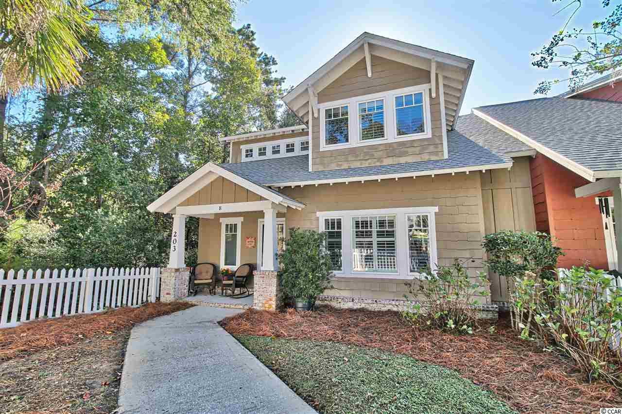 Beach, biking, boating, golf and great restaurants.  All easily accessed from this lovely 4 bedroom end  unit with privacy and wooded views!  Spacious kitchen with walk-in pantry, bright wooded view, granite counters, stainless appliances, crown molding, plantation shutters, built-in entertainment center, new water heater 2017, new roof 2020, and a 2019 top of the line Trane 2 zone HVAC with antiviral UV light with green features and smartphone capabilities are just some of the highlights.  Call now to schedule a viewing!