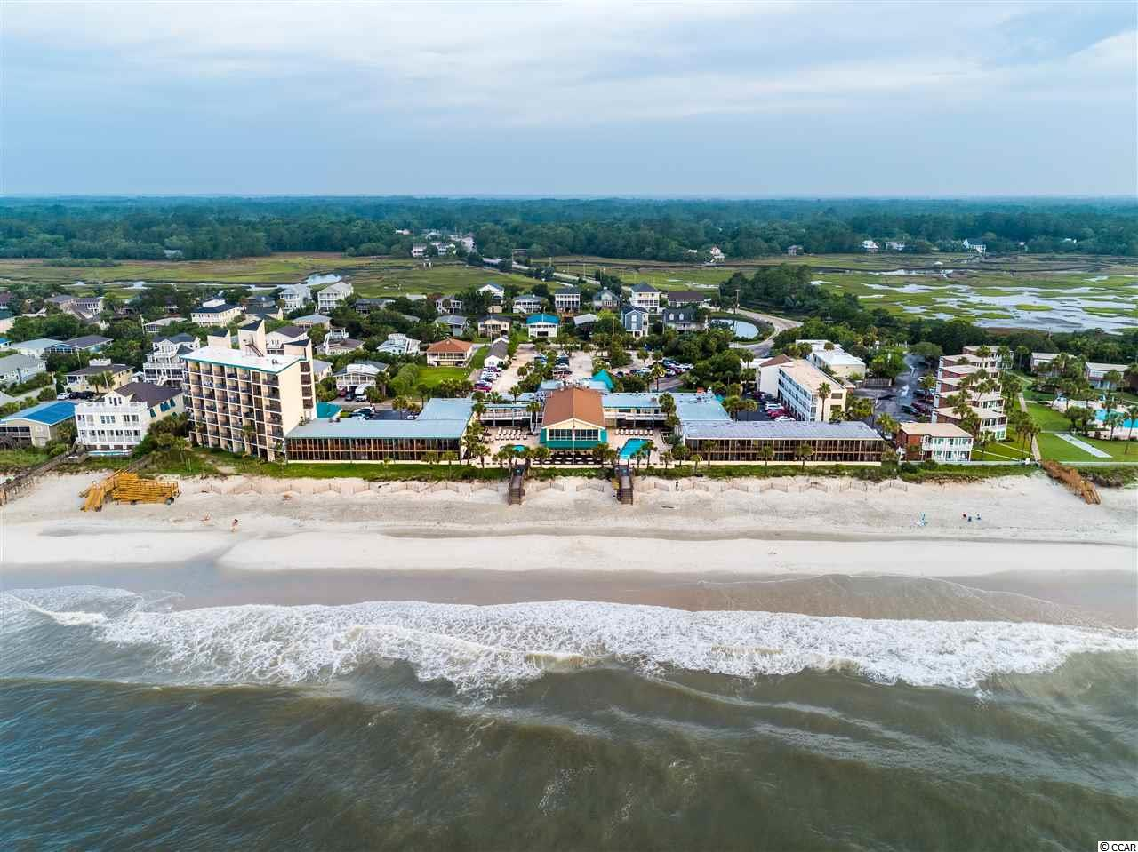This furnished first floor Litchfield Inn condo has been completely renovated. Relax beside one of the two oceanfront pools or the beach below. Dine on-site poolside, or upstairs overlooking the beach at our areas only oceanfront restaurants. This condo has a positive cash flow for the current owner. Easy access to local shopping and sightseeing. We are the quiet side of the Grand Strand. Come see what makes this area so special and desirable for yourself! Square footage is approximate and not guaranteed. Buyer is responsible for verification.