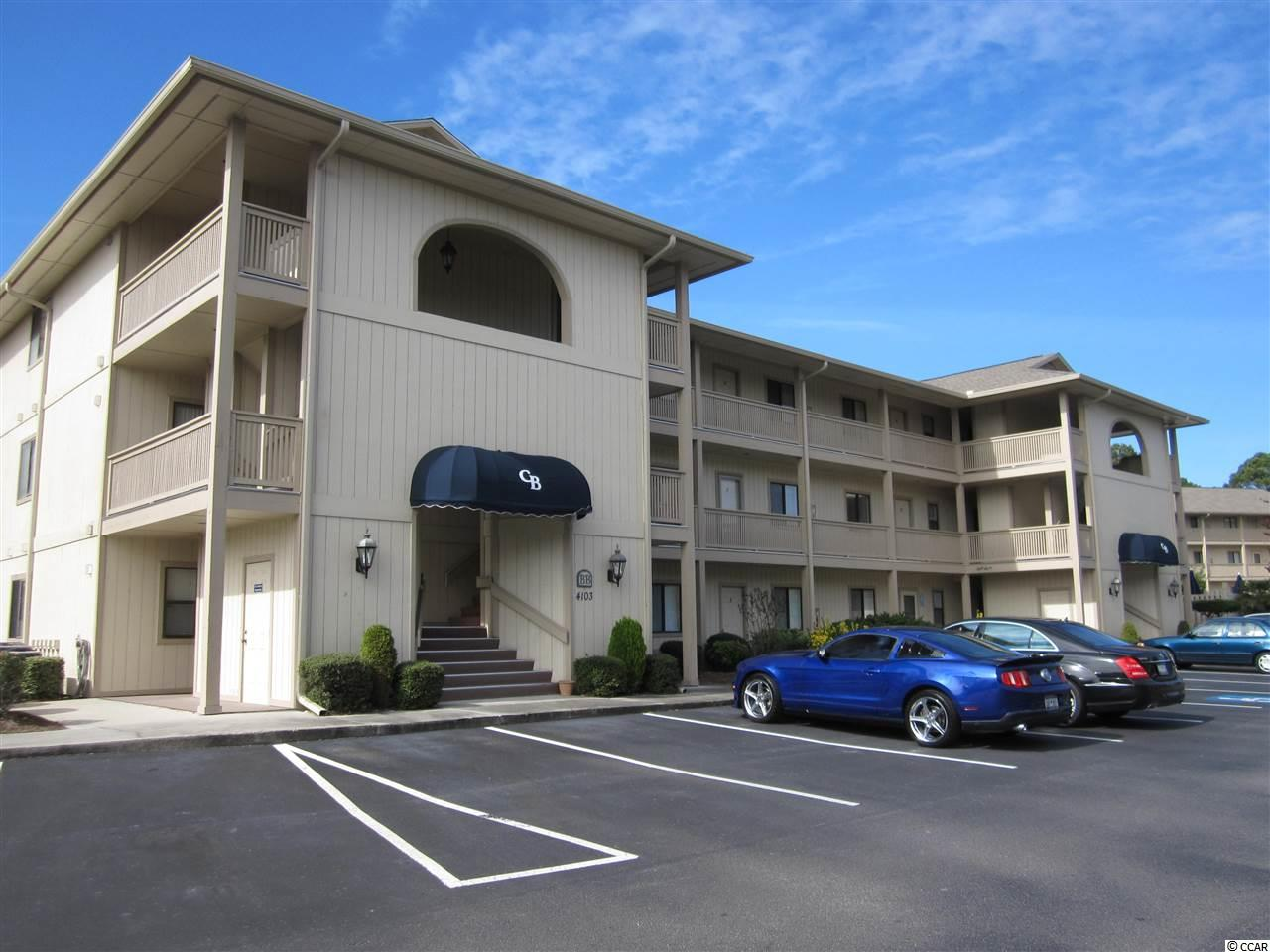 Only currently available condo for sale in MLS at this conveniently located and popular Little River resort.  Spacious two bedroom, two full bathroom end unit with extra side window and screened porch overlooking serene and quiet wooded area.  Includes outside storage closet.  Master bath tub converted to step in shower. Close to golf, shopping, entertainment, NC and SC beaches, the Intercoastal Waterway, restaurants and medical care. Call today! Square footage is approximate and not guaranteed. Buyers responsible for verification.