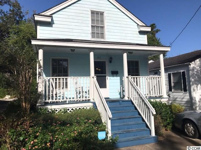 Great opportunity to live in beautiful downtown Georgetown. This quaint cottage was built in 1999 and is perfect for a first or second home or even a retirement home. Offering a downstairs master with a large bath and walk in closet as well a wonderful upstairs with plenty of storage, large open hallway with 2 bedrooms (2 walk in closets) and bath. Laundry room has half bath. Hardiplank siding for easy maintenance. Endless possibilities with this lovely cottage!!