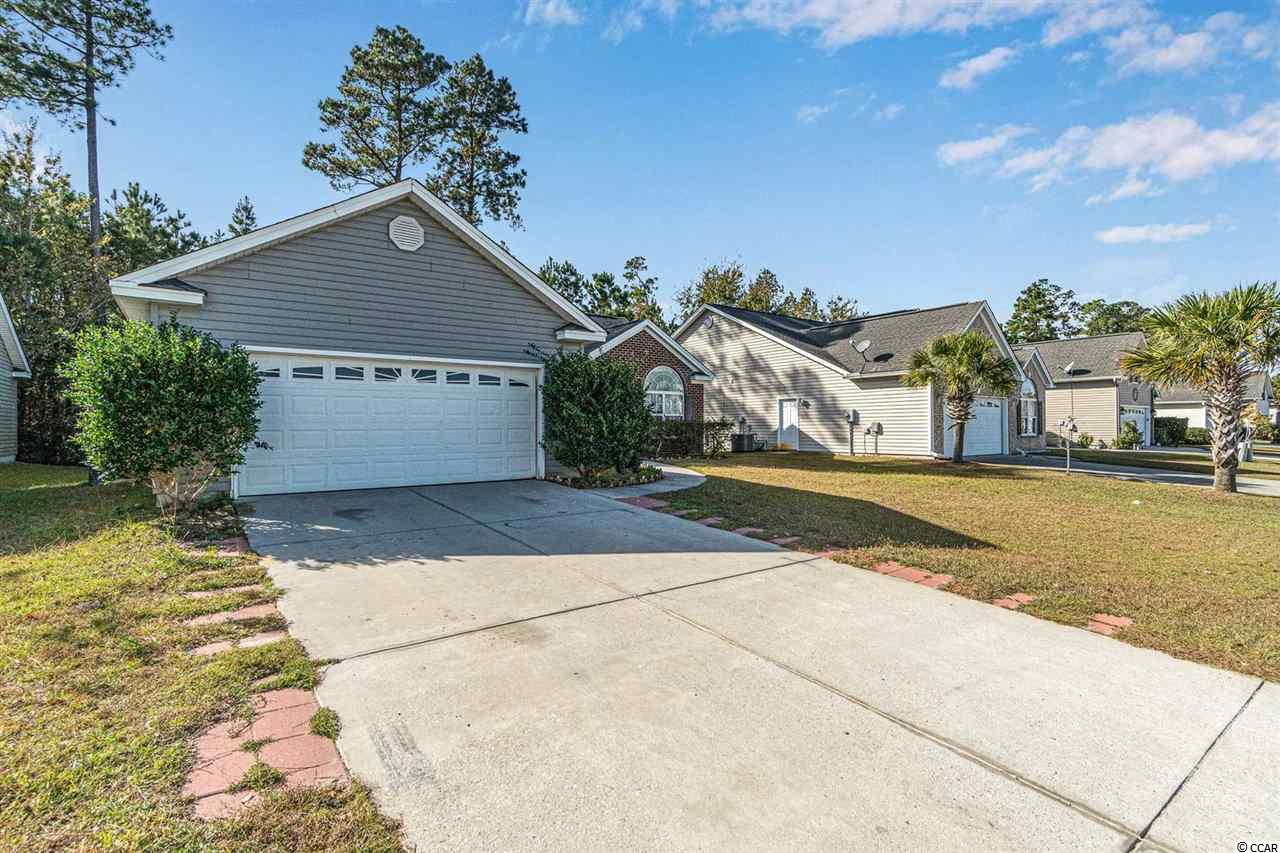 This spacious 3 bed, 2 bath home is located in a quiet little community of Turtle Cove. The large master suite offers a large walk-in closet, double sinks, garden tub & separate shower. The additional bedrooms are generous in size with ample closet space. The kitchen offers an eat-in area, with lots of cabinet & counter space.  The living room is large & bright with vaulted ceilings.  Sit outside on your patio & enjoy your morning coffee or cookout with family and friends.  Conveniently located to shopping, dining and entertainment, area attractions, golf courses and so much more!  Schedule your showing today!