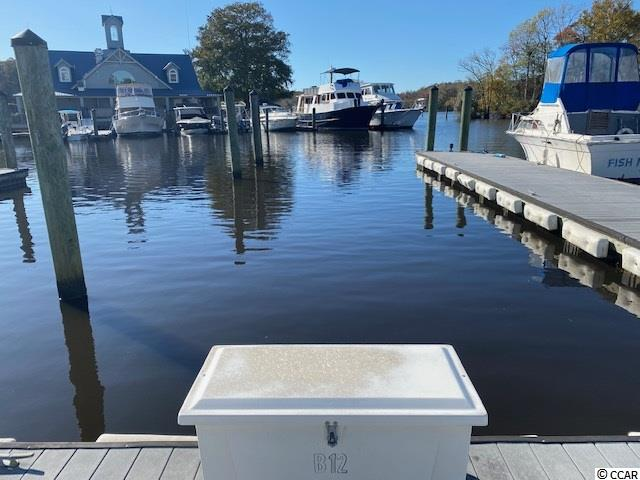 Amazing opportunity to purchase this prime boat slip at Wacca Wache Marina on the Intracoastal Waterway in Murrells Inlet ! Slip B-12 is 62ft in length. Marine slip fee includes electric, water, and sewer. Public boat landing is available next to the marina and there is also a restaurant at the marina with beautiful waterway views ! Call the listing agent today for a showing !