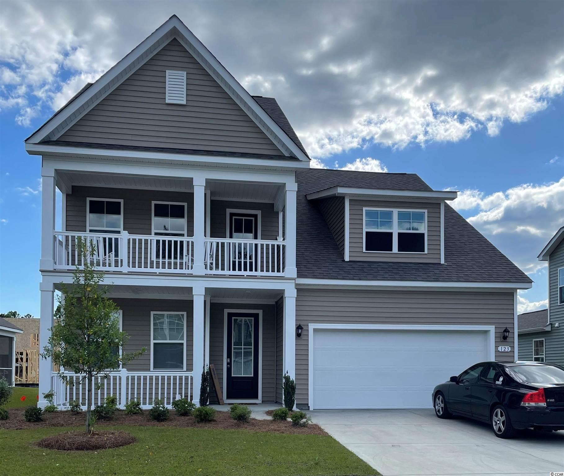 New phase now selling! Hidden Brooke is a beautiful community with an amenity that includes a pool with large deck area, clubhouse, exercise room, and fire pit overlooking the water. Minutes away from Highway 31 which provides quick and easy access to all of the Grand Strand's offerings: dining, entertainment, shopping, and golf! Tranquil setting just a short drive to the beach. The Willow Oak is our very popular two-story plan featuring an open concept design and a spacious primary bedroom on the first floor. Perfect for entertaining, the gourmet kitchen overlooks the open family room and features white painted cabinetry, granite countertops, and stainless Whirlpool appliances including a gas range. Wide plank laminate flooring flows throughout the kitchen, living room, dining room, and also into the first floor flex room which would make a great home office or formal dining room. Covered rear porch creates a seamless transition from indoor to outdoor living! Upstairs you will find a versatile loft space along with three great size bedrooms and two full bathrooms. One of these bedrooms is a self-contained suite with private bath!  *Photos are of a similar Willow Oak home. (Home and community information, including pricing, included features, terms, availability and amenities, are subject to change prior to sale at any time without notice or obligation. Square footages are approximate. Pictures, photographs, colors, features, and sizes are for illustration purposes only and will vary from the homes as built. Equal housing opportunity builder.)