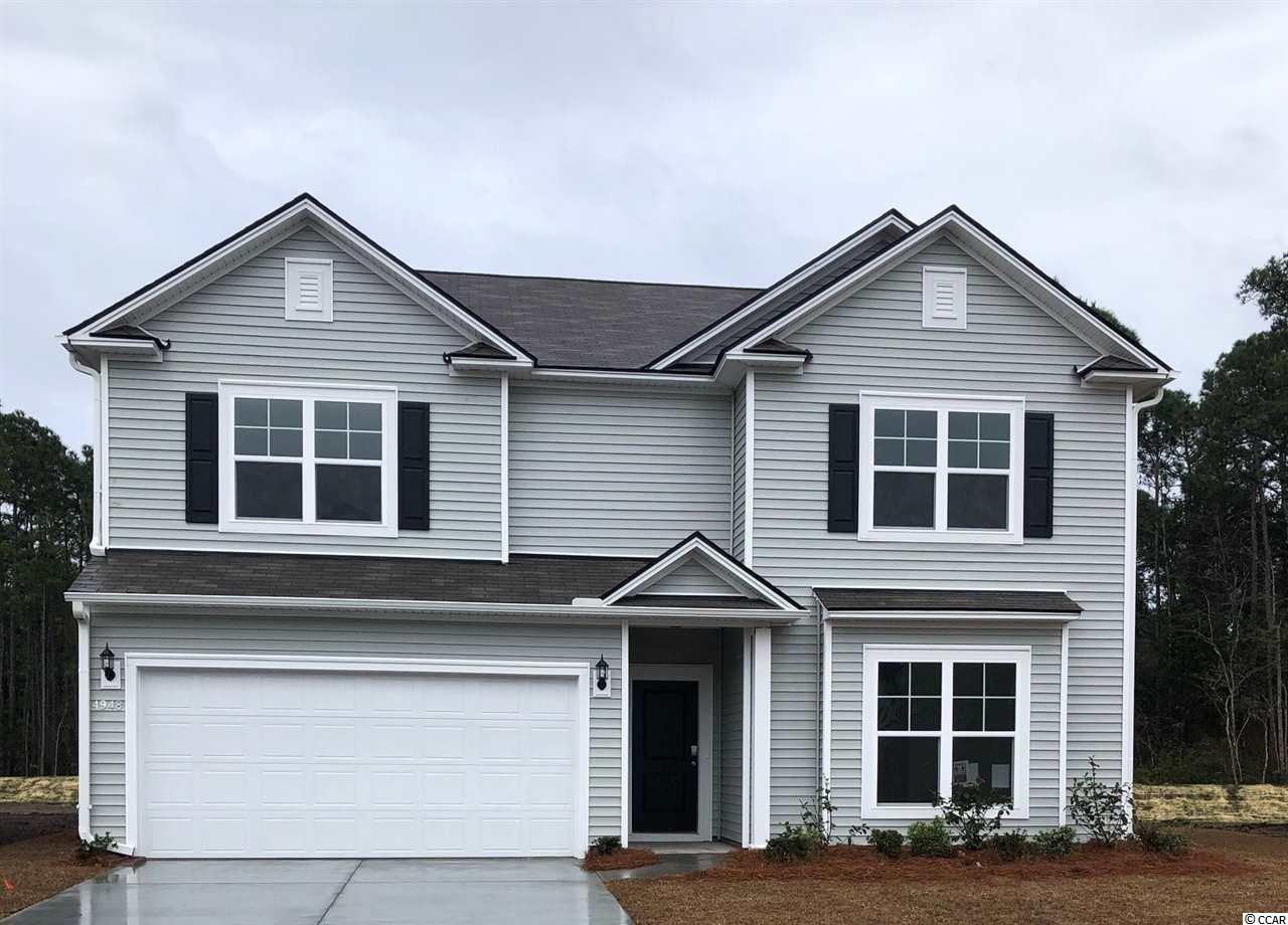 """This Mitchell home is 4BR / 2.5BA + Game Room + Flex space. You'll love the large Owner's Suite with a bedroom-sized master closet. Double vanity, large linen closet, and walk-in shower in Owner's Bath. This open kitchen has ample cabinet space, a roomy corner pantry, and the 9'6"""" granite island is idyllic! Additional features are staggered cabinet design, stainless steel appliances, and LED lights. Upstairs is the Owner's Suite, 3 large bedrooms, and an open game room/loft for additional living space. We include an exceptional 10yr Home Warranty with 5-year water infiltration and leak protection as well as great incentives for working with preferred lender. ...ask for details! This """"tucked away"""" section in Clear Pond offers a unique feel and natural setting...a great location within the community.  Completed Clear Pond amenities include 2 swimming pools, fitness center, playground, clubhouse, open green space, and walking paths. This community is conducive to biking, walking, and golf cart rides...a fantastic place to call home! Clear Pond community offers close proximity to everyday shopping, restaurants, recreation, and entertainment and is only 10 miles to the beach. Carolina Forest Schools.  Photos are of a model home for representational purposes only, and may show different options and upgrades selected."""