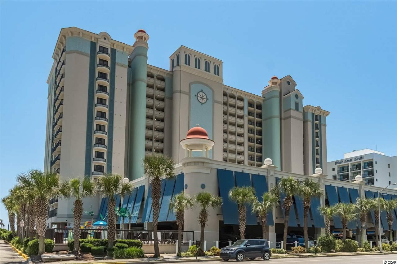 Must see! Direct oceanfront, fully furnished, 3 bedroom, 2 bathroom condo located at the Compass Cove Resort. Breathtaking oceanfront views from the 6th floor of this unit! Enter through the foyer and step right into the open living space area which is ideal for entertaining and everyday living. The spacious fully equipped kitchen offers granite countertops and plenty of cabinets for storage. Enjoy your favorite meals at the breakfast bar, dining area or even on the balcony. The master suite has private access to the oceanfront balcony. The two other bedrooms share a nicely sized bathroom. The washer & dryer are located in the unit for more convenience. Come enjoy your morning coffee or evening cocktail on the roomy oceanfront balcony. On top of this fantastic unit, Compass Cove Resort offers plenty of amenities for everyone with indoor and outdoor pools, kiddie pools, spas, lazy river, bar and more. Located in the heart of Myrtle Beach, Compass Cove is located close to dining, shopping, entertainment, golf, movie theaters and so much more! A fine choice for a primary residence, rental potential, or vacation getaway and the HOA includes insurance, all utilities besides the phone and access to all of the amenities. Do not miss out!! Schedule your showing today!