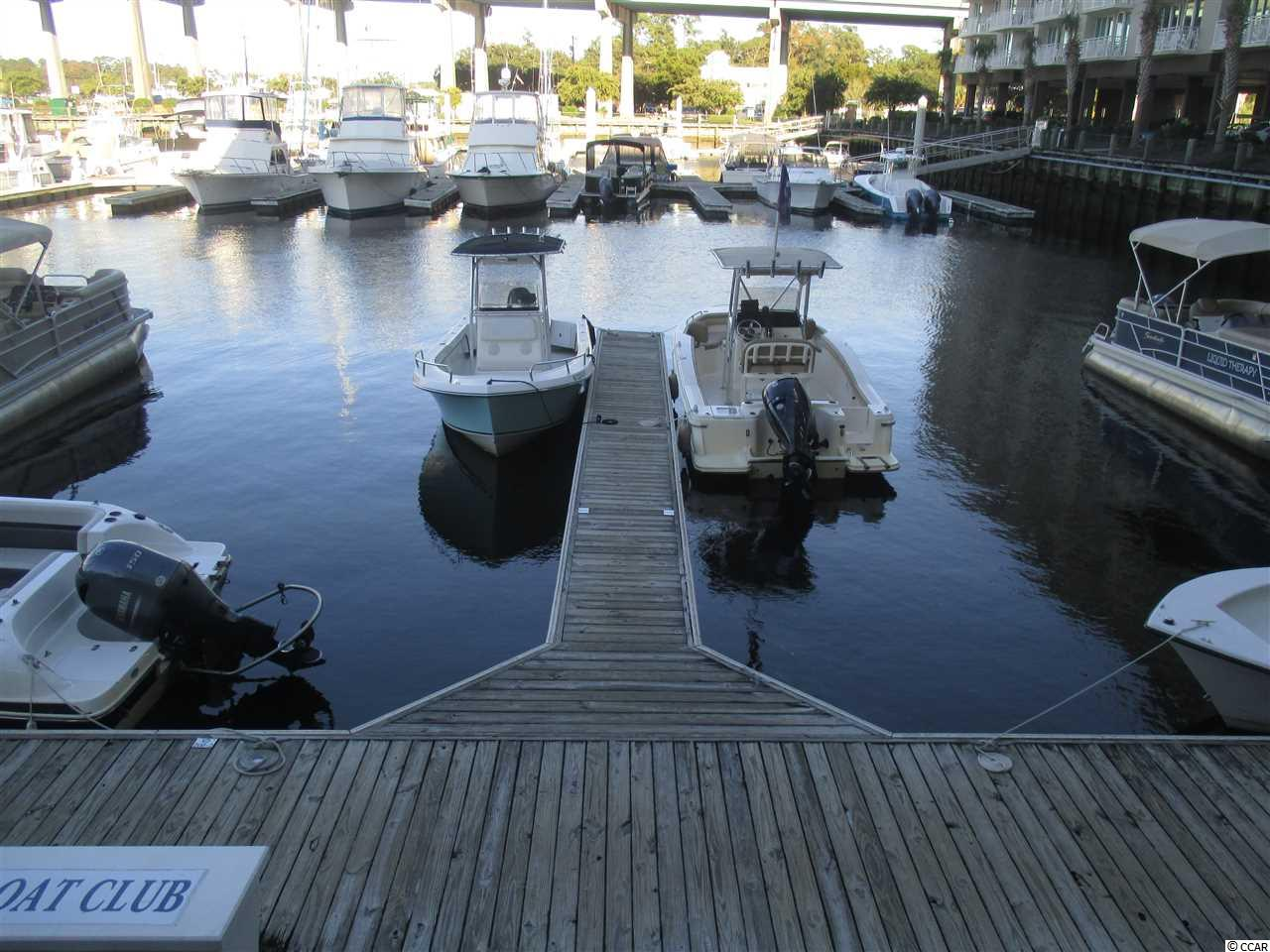 This boat slip at Harbourgate Marina is one of only two boat slips that are owned by private individuals at the same location as The Freedom Boat Club and The Harbourgate Yacht Club. Here is a once in a life time opportunity to purchase your own boat slip in one of the most popular marinas on The Grand Strand.