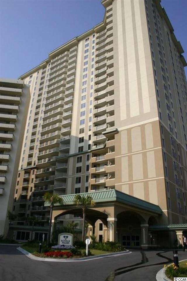 This is a 3 bedroom lock- out floor plan.  This floor plan has a Great room with Direct ocean front views and access to the large ocean front balcony.  The Master bedroom is ocean front also and has access to the ocean front balcony.  The master bedroom has a large walk in closet and large master bath with shower and whirlpool tub.  Bedroom 2 has 2 queen beds with access to hall bath.  The 3rd bedroom is connected to the condo but also has access to the main hallway and can be rented separately as an efficiency.  The 3rd bedroom has a galley kitchen and separate heat and air and hot water.