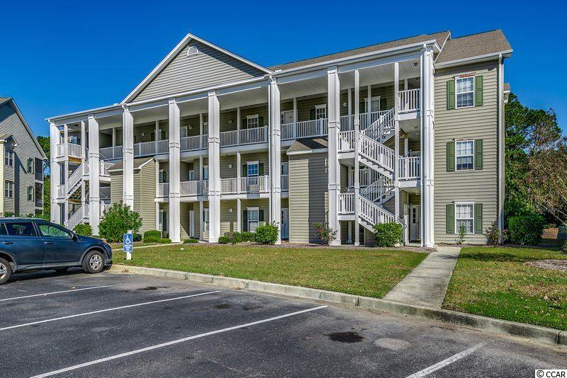 This totally move-in ready, spacious three bedroom two bath unit has a split floor plan and open concept living area with plenty of natural light, and is located in Blackmoor, near award-winning St. James schools! The view from the large screened balcony is a fountained pond surrounded by a grove of well established trees, and to your right a view of the prestigious Blackmoor golf course. Very beautiful and peaceful. The large master bedroom has 3 windows (with the same gorgeous view) and includes a walk in closet, an ensuite bath with a garden tub/shower, double sinks, and a linen closet. The dining area is inviting with popular wainscoting and the kitchen has a pantry and also a separate room for laundry. Community amenities include a pool, grilling area and clubhouse and plenty of outdoor walking space. Conveniently located to everything coveted Murrells Inlet has to offer: the Marsh Walk, Brookgreen Gardens, Huntington Beach State park, shopping, medical facilities, restaurants, a short drive to the beach, and of course award- winning golf!  Great for primary residence, second home, or investment!