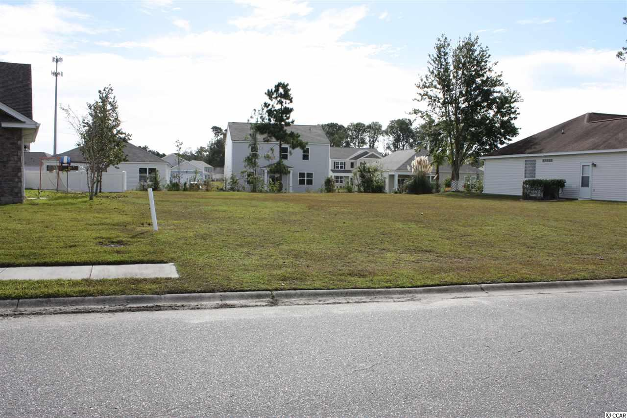 Located in Hunter's Ridge Crossing, this is the only available really nice approx. 65' x 122'  residential building lot. With the community sidewalks, it's just a short walk to the pool. Centrally located off Forestbrook rd. with access to both hwy 501 and 544. The award winning Elementary and Middle Schools are just up the road, and the High School is Socastee High. Close to shopping, golf courses and boating on the waterway. Bring your own builder and no time limit to build. Measurements are approximate and need to be verified by buyer and buyer's agent.