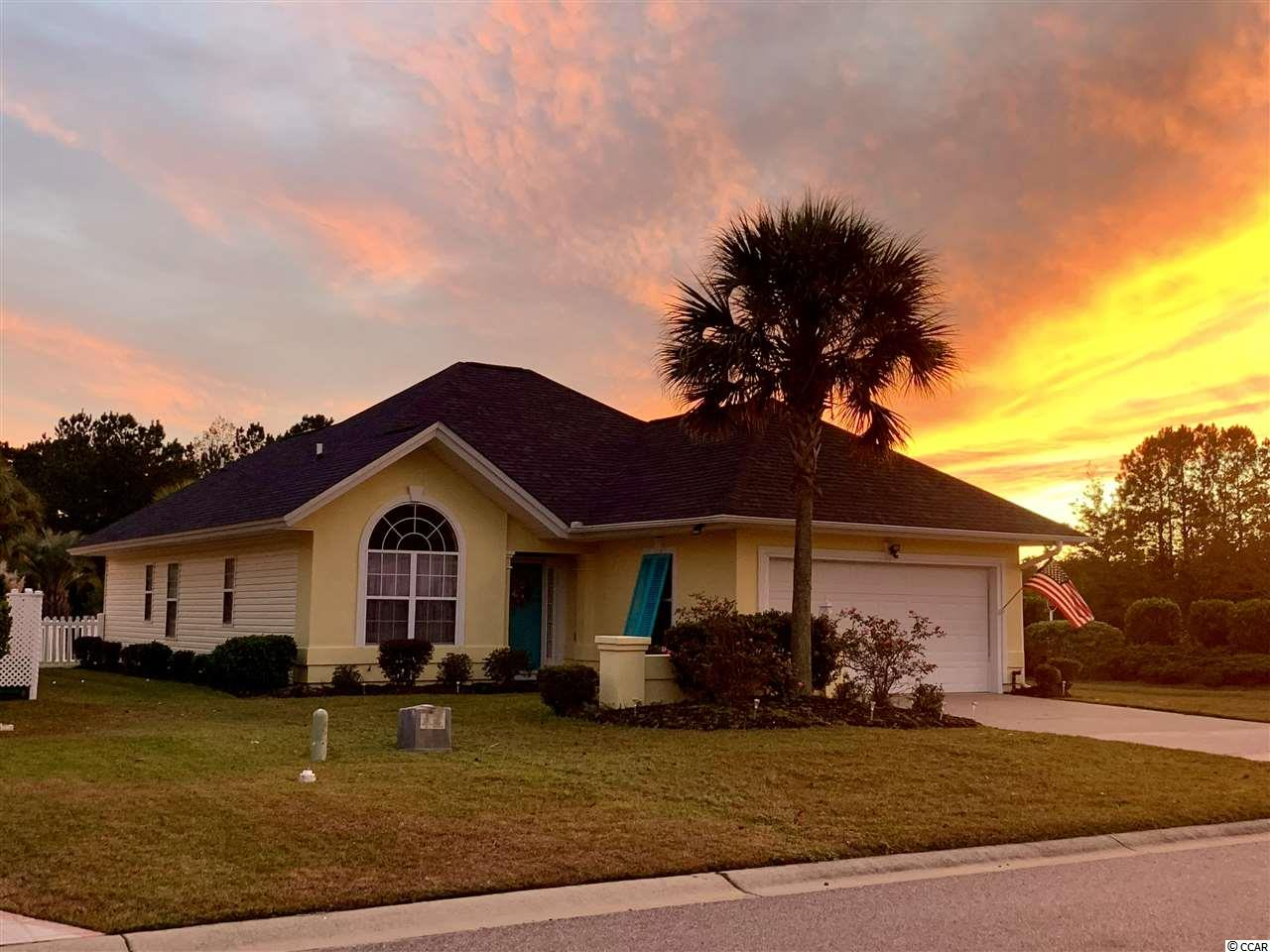 One of hottest selling locations on the Grand Strand!! 3 Bed/2Bath house located 3 miles from ocean, close to famous Murrells Inlet Marshwalk, Brookgreen Gardens, and Huntington Beach State Park.  Home features new granite countertops, new Pergo wood floors in living areas, new fenced in yard, freshly painted stucco with a relaxing view of a fountain pond. Home is located in Cypress Keyes where the HOA includes cable, trash pick up, beautiful pool and clubhouse.  Homes in this neighborhood sell quickly!  3 grocery stores in less than a mile, close to many restaurants and shopping.