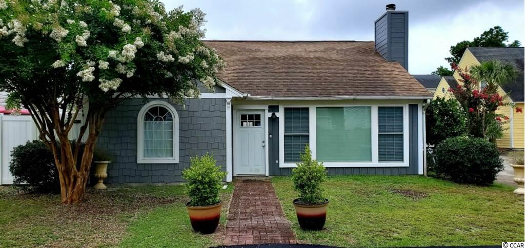 """This charming 2 bd/2 bath home is located just blocks from the beach, with NO HOA! The home features lots of updates including, new kitchen,  new plumbing, lights, toilets', custom vanities, re-glazed shower, floors and more. Windows were replaced in 2017.  Home is being sold """"as is""""."""