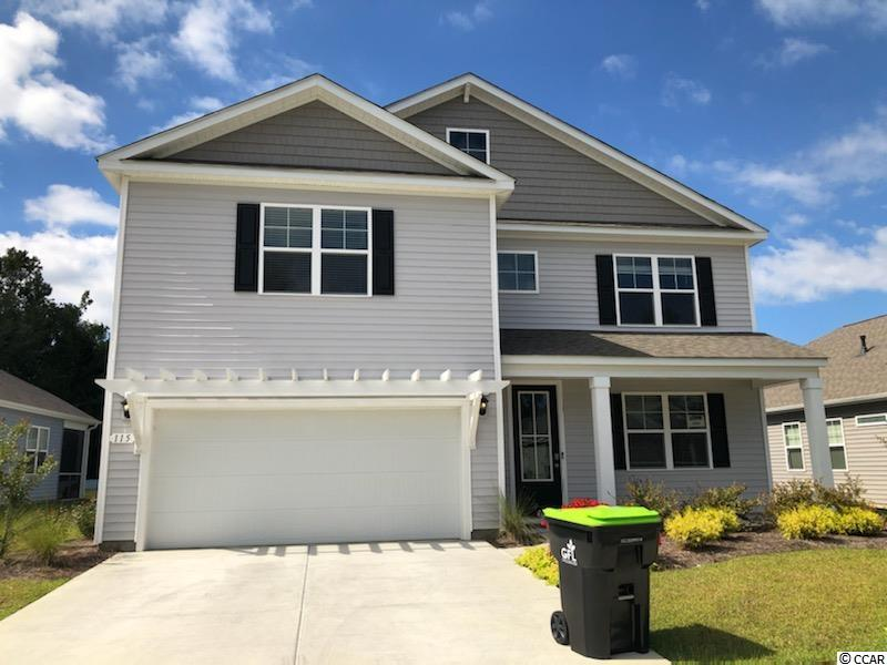 """New phase now selling in Hidden Brooke! This popular Tillman plan will give you the perfect mix of indoor and outdoor living featuring a large front porch and a spacious rear screen porch! Gourmet kitchen with sleek granite, 36"""" staggered cabinets, and stainless Whirlpool appliances including a gas range. Beautiful wide plank laminate wood flooring flows throughout the main living areas with tile in the bathrooms and laundry room. The first floor primary bedroom suite boasts a huge walk-in closet and en suite bath with a double vanity, large shower, and a linen closet for added storage. Upstairs you will find a generous loft area, four additional bedrooms, and two full bathrooms. Hidden Brooke is a beautiful community with an amenity that includes a pool with large deck area, clubhouse, and exercise room. Minutes away from Highway 31 which provides quick and easy access to all of the Grand Strand's offerings: dining, entertainment, shopping, and golf! Tranquil setting just a short drive to the beach.  *Photos are of a similar Tillman home.  (Home and community information, including pricing, included features, terms, availability and amenities, are subject to change prior to sale at any time without notice or obligation. Square footages are approximate. Pictures, photographs, colors, features, and sizes are for illustration purposes only and will vary from the homes as built. Equal housing opportunity builder.)"""