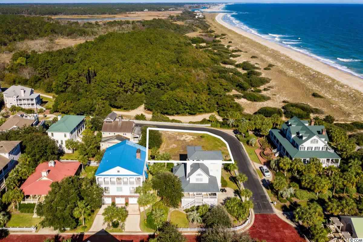 Strategically located in the enclave of Ocean Park at the Northeast corner of DeBordieu's Colony's oceanfront, this wonderful property is immediately adjacent to over a mile of spectacular unspoiled beach. The location provides not only unobstructed ocean views and private beach access, but is also in close proximity to the DeBordieu Club with its many amenities. The availability of this unique property provides a once in a lifetime opportunity for a family to create the DeBordieu home of their dreams in a location second to none.
