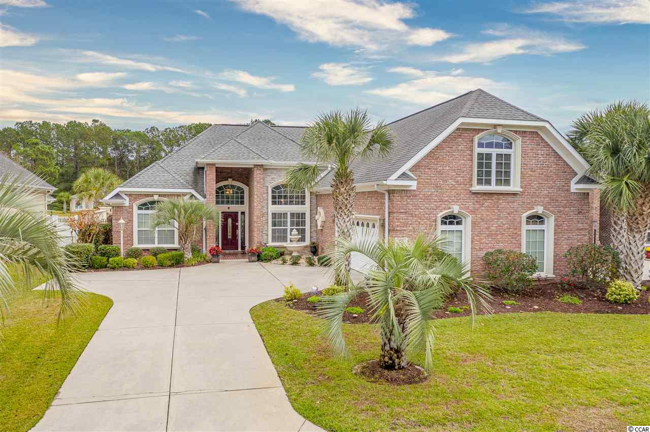 Welcome to the one and only, Waterfall community. Beautifully designed, custom brick homes only 8 minutes to North Myrtle Beach Main St., and lowPOAfees. This customBluewatermodel was carefully built in 2007 with almost 3,000 sq ft in living space. The first floor features a massive master suite with a sitting retreat, and walk-in custom closets. The master bathroom is spacious and features double vanities, granitecountertops,and a walk-in tile shower. The first floor living and dining area along with the master suite have hardwood floors and wet areas have tile. This layout offers the majority of living space on the first floor; two first floor guest bedrooms that share a bathroom, first floor study, laundry room, and open-concept great room with a gas fireplace, and asunroomwith high ceilings. The second floor features a bonus room with extra side wall closets for storage, extended full bathroom, a finished attic and or extra flex room with a skylight and more storage space! This property has a full irrigation system along with a whole-houseKineticowater filtration system. You can enjoy pure water that feels and tastes better! The kitchen has 12 ft ceilings, 42 inch custom cabinetry, all stainless steel appliances and granitecountertops. The refrigerator was replaced in 2019 and the dishwasher was replaced in 2018. The kitchen has new laminate flooring and has fresh paint. The backyard overlooks the beautiful waterfall feature, pergola, large patio, and built-in outdoor gas grill with summer kitchen. Waterfall is a gated brick home community located in Little River, SC. Conveniently located and easy access to Hwy 31, schools, Seacoast Hospital, the North Myrtle Beach Park & Sports Complex and more! Schedule your showing today!