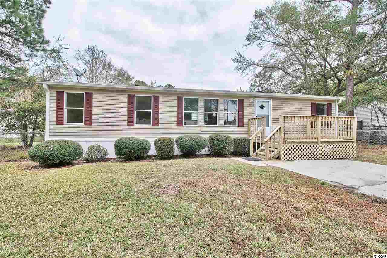 Best value in all of Little River! This is literally the lowest priced and best quality home in Little River north of Highway 9. Not to mention the location! You are literally only 5 minutes to the famous Little River Marsh Walk with all the restaurants, bars, casino boat, and water sports and access is located. You are also only 10 minutes to the beach! If you are looking for an nice home that is affordable and only 5-10 minutes away from everything, look no further, this is the home for you! Call your agent today to schedule a showing because this one won't last long!