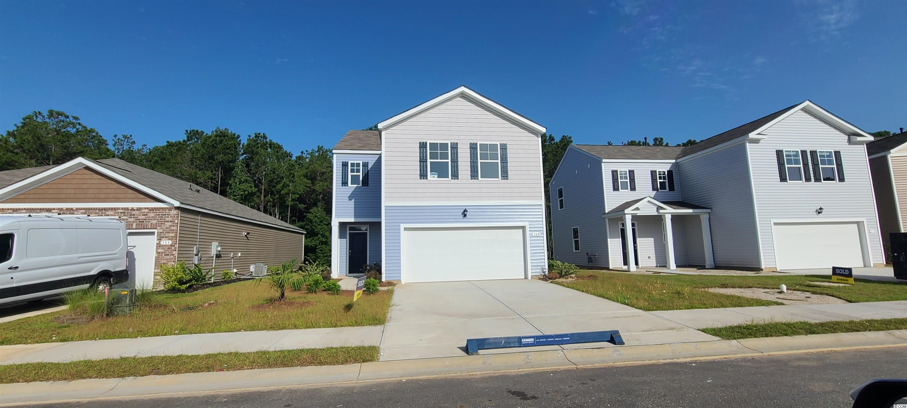 Oak Arbor is a brand new natural gas community conveniently located off of Highway 707 in Murrells Inlet close to shopping, schools, and the famous Murrells Inlet Marsh Walk. Our Popular Elston plan features a gourmet kitchen that opens to a large living room, dining room combination. Imagine spending the holidays with plenty of room for everyone! Sliding glass doors off the great room lead to the rear covered porch creating a seamless transition from indoor to outdoor living. Granite in the kitchen, white painted cabinetry, and laminate wood flooring throughout the whole first floor. The spacious primary bedroom is a tranquil retreat with its own spacious bathroom and walk-in closet. All additional bedrooms are a generous size and the laundry room is conveniently located upstairs, as well. Tankless gas water heater and a 2-car garage with garage door opener also included. It gets better- this is America's Smart Home! Ask an agent today about our industry leading smart home technology package that is included in each of our new homes.   *Photos are of a similar Elston home. (Home and community information, including pricing, included features, terms, availability and amenities, are subject to change prior to sale at any time without notice or obligation. Square footages are approximate. Pictures, photographs, colors, features, and sizes are for illustration purposes only and will vary from the homes as built. Equal housing opportunity builder.)