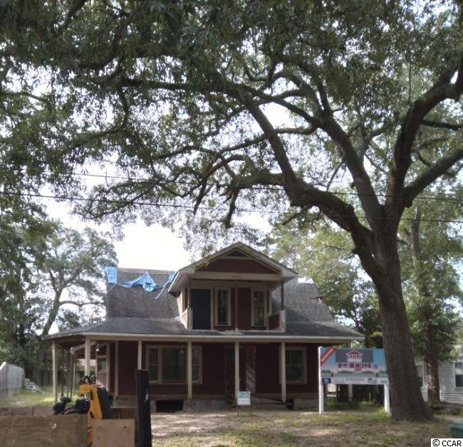 """Beautiful bones with a ton of potential! Located in the heart of historical Conway, this home is waiting for just the right investor or family to come complete it and put the finishing touches on it to make it their own! This home is being sold """"as-is"""", but has plans already drawn up for a spacious split level 3 bedroom 3 1/2 bath home."""