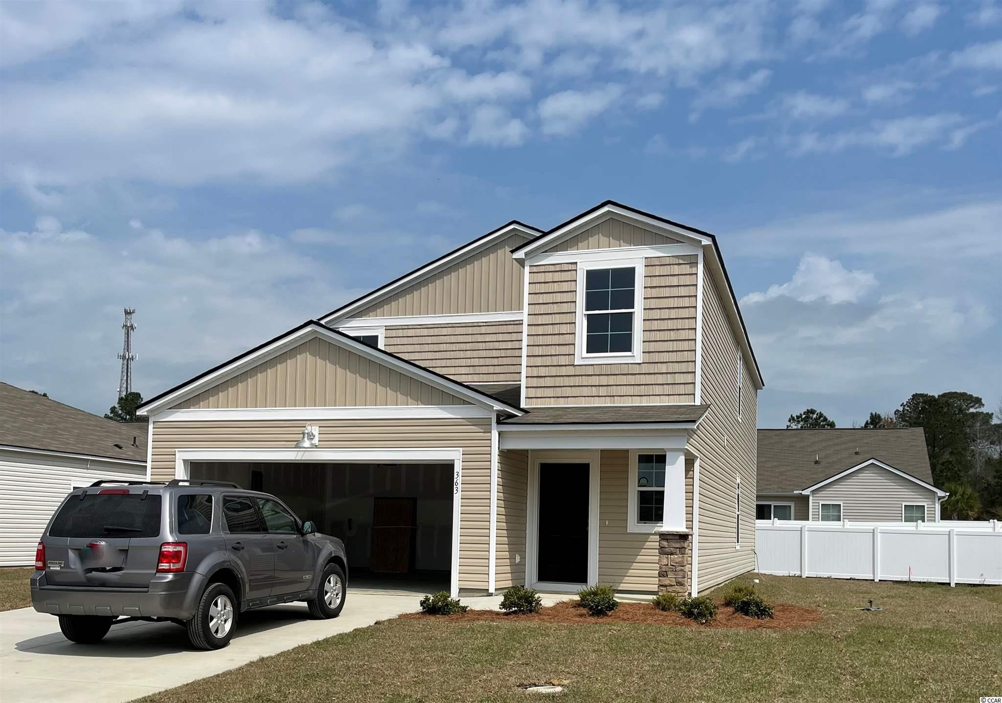 """Under construction - Ready February 2021. The Columbia is a Two Story floor plan that features 5 bedrooms, 2 bathrooms and a Powder Room, The Owners Suite is located on the ground floor, which includes a spacious Master Bath and an oversized walk in Closet. The Owners suite bathroom features double sinks an elevated vanity and a 5' shower. This open concept home hallmarks 36"""" stylish white cabinets, a 3 x 6 subway tile back splash in the kitchen, granite counter tops in the kitchen, Shaw laminate flooring in the main living areas, GE  Stainless steel appliances including a Gas Range, Microwave Range Hood, Dishwasher, and Disposal.  This home also features LED recess lighting, Moen faucets and towel hooks, elongated toilets with soft close lids, a Rinnai tankless gas water heater, and automatic garage door opener. Pictures are of a previously built home that may have additional upgrades and are for illustrative purposes only."""