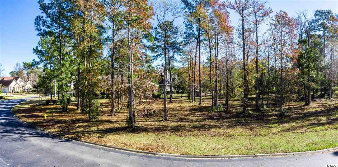 Large LOT in Barefoot Resorts prestigious community of Dye Estates. Mature trees on property that can be incorporated into landscaping. This pie shaped lot can accommodate a larger ranch-style or 2-story home. Lots of design possibilities with this building footprint. Several new custom homes under construction in Dye Estates. Take the first step by securing this home site today. Walk, bike, or take a golf cart to the Barefoot Landing. Neighborhood and Resort amenities include: New Private Beach Cabana (under construction), Gated Entryway with 24 Hour Security Guard, 15,000 sq. ft. swimming pool on the Intracoastal Waterway, Elaborate Golf Clubhouse, Driving Range, Marina, Restaurants, 4 Golf Courses, and so much more. Only a short walk or ride to all of the Barefoot Landing restaurants, shopping, and minutes from the Myrtle Beach attractions.